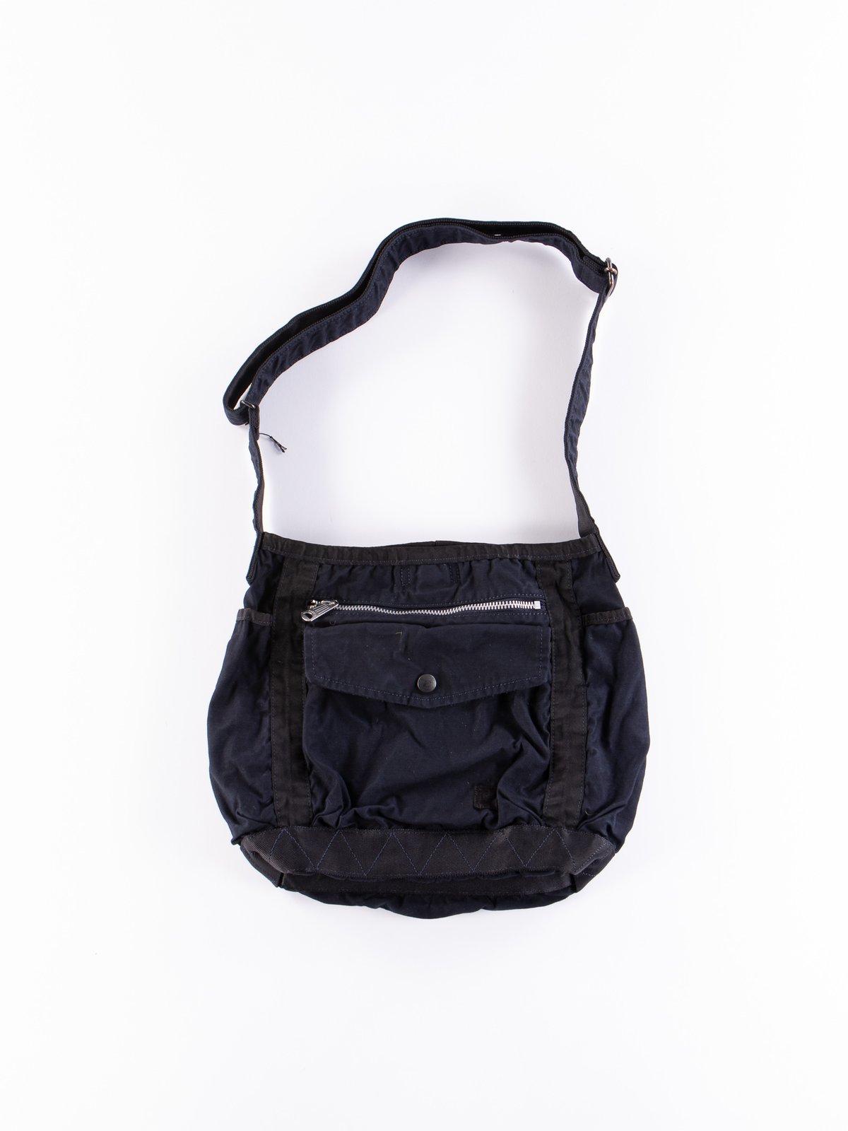 Navy Crag Shoulder Bag Small - Image 1