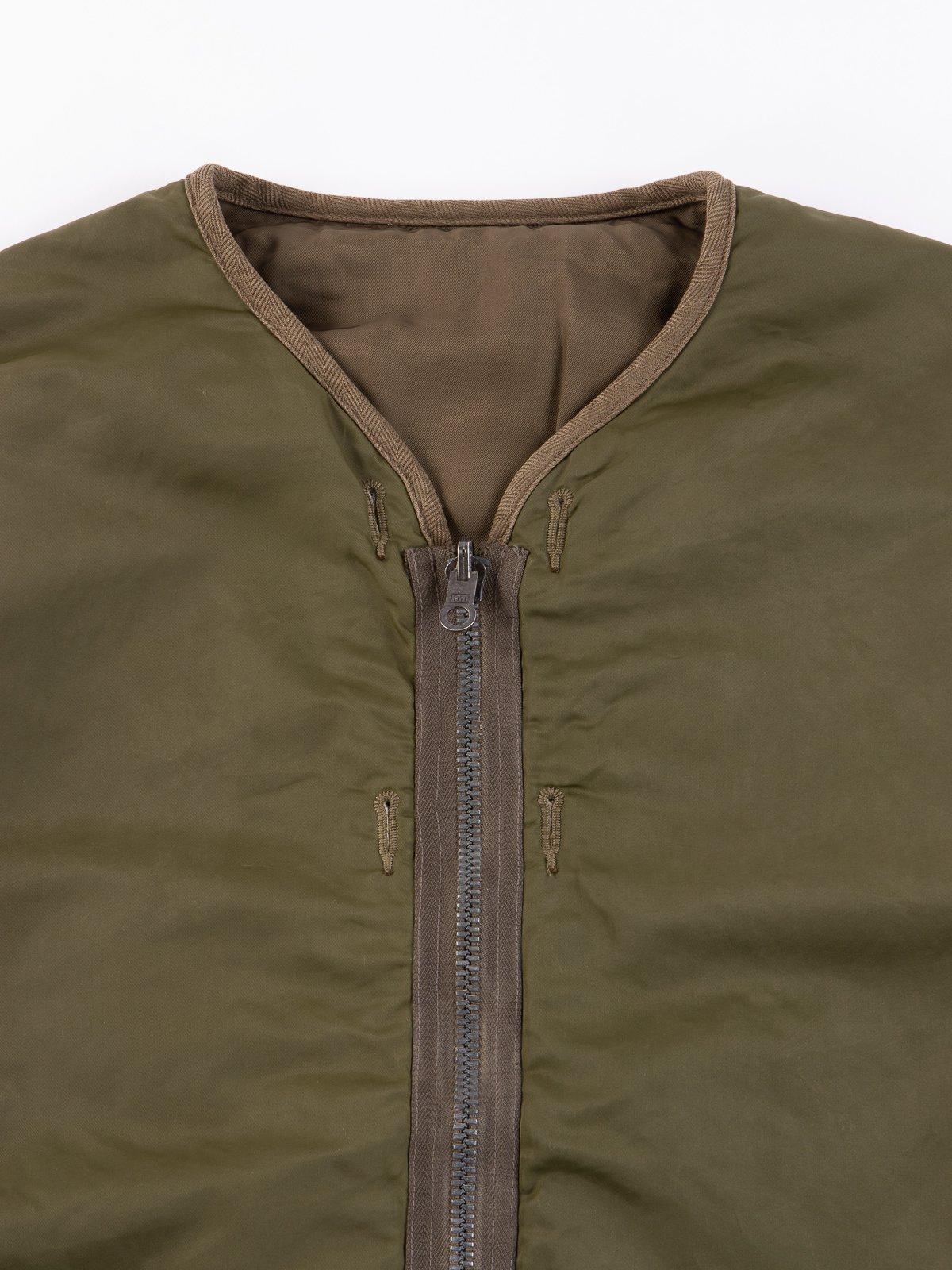 Olive Iris Liner Jacket - Image 2