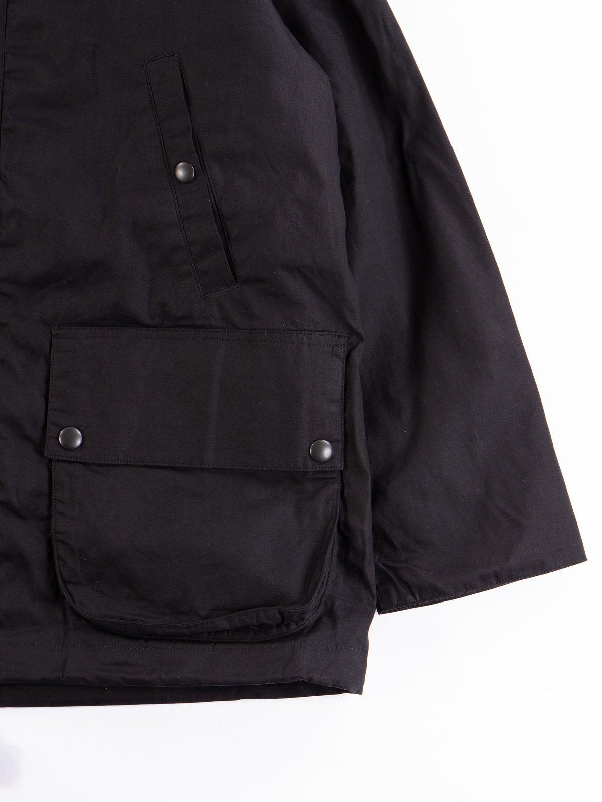 Black British Field Hooded Jacket - Image 3