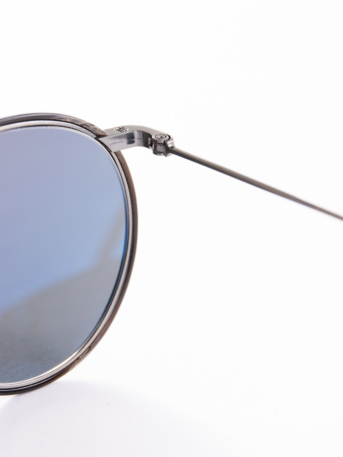 Pewter–Black Horn/Carbon Grey Casson Sunglasses - Image 4