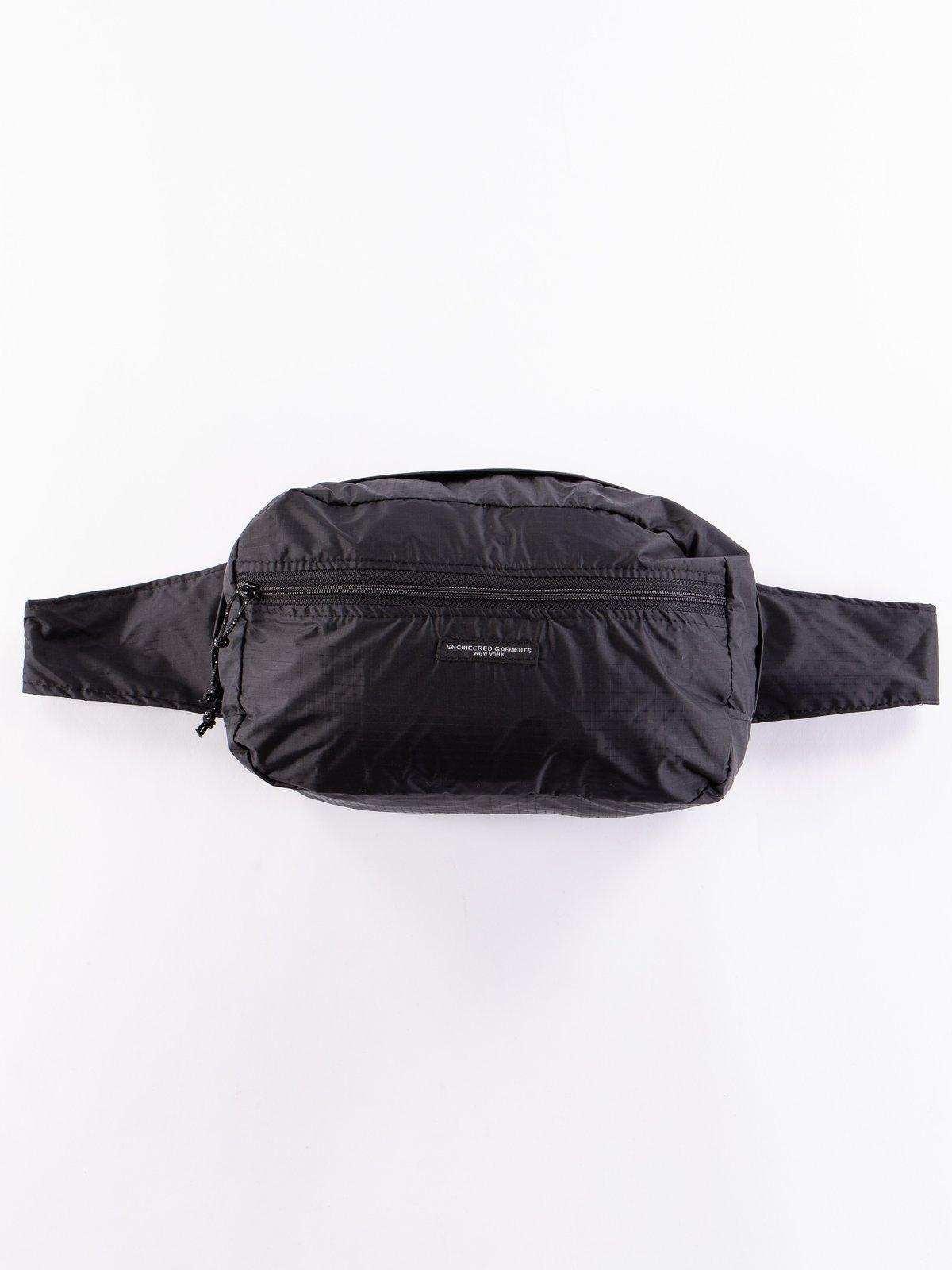 Black Nylon Ripstop UL Waistpack - Image 1