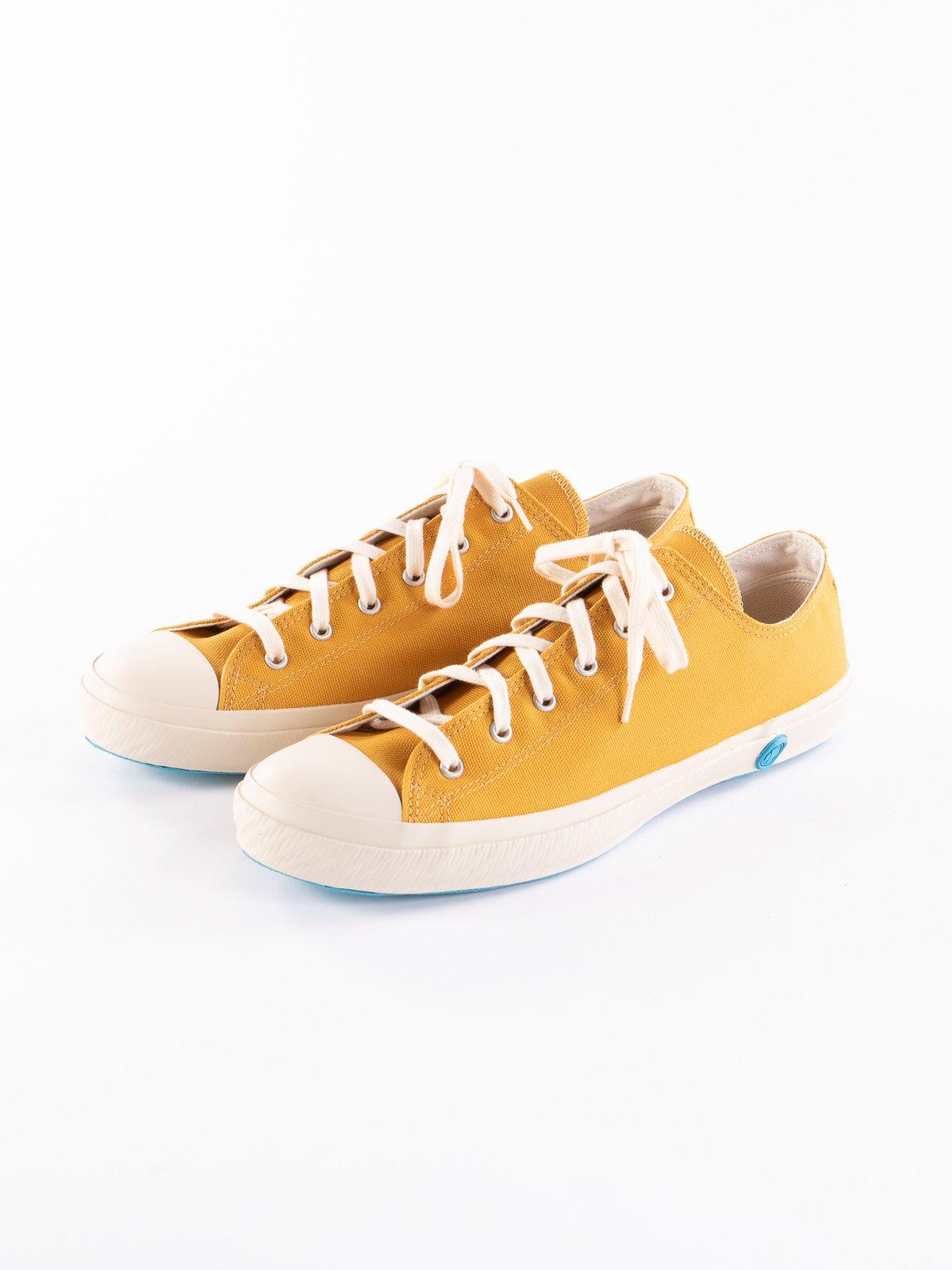 Mustard 01JP Low Trainer - Image 2