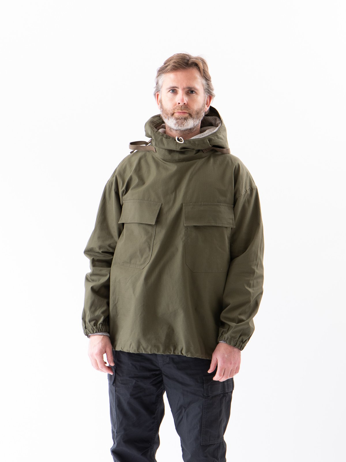 Olive Army Ripstop Salvage Parka - Image 2