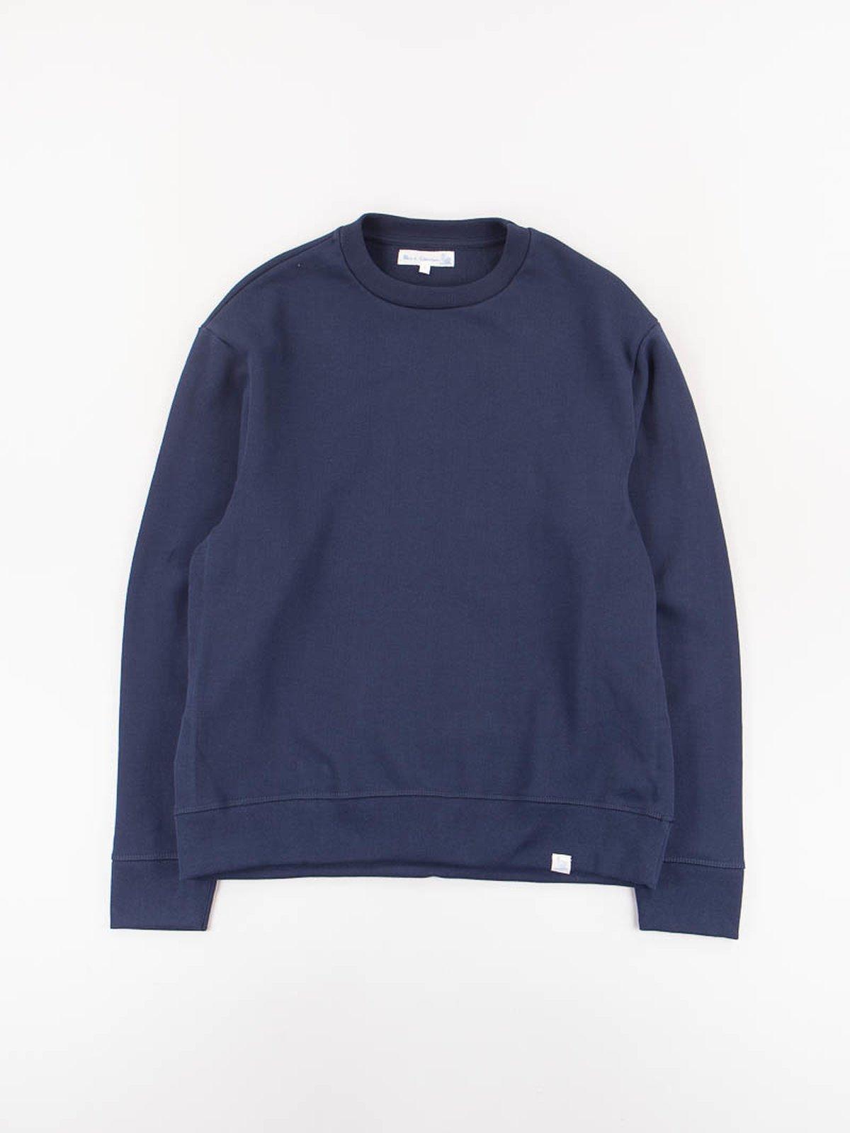 Ink Blue 346OS Organic Cotton Oversized Sweater - Image 1