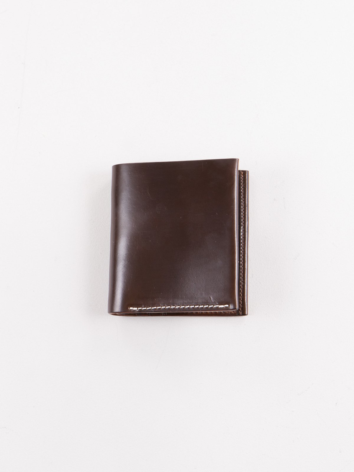 Color 8 Horween Cordovan 3–3 Wallet - Image 1