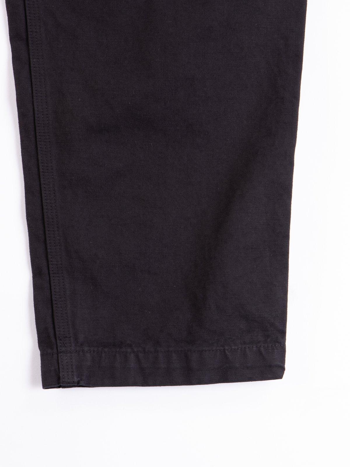 Black Overdyed Canvas TBB Climbing Pant - Image 5