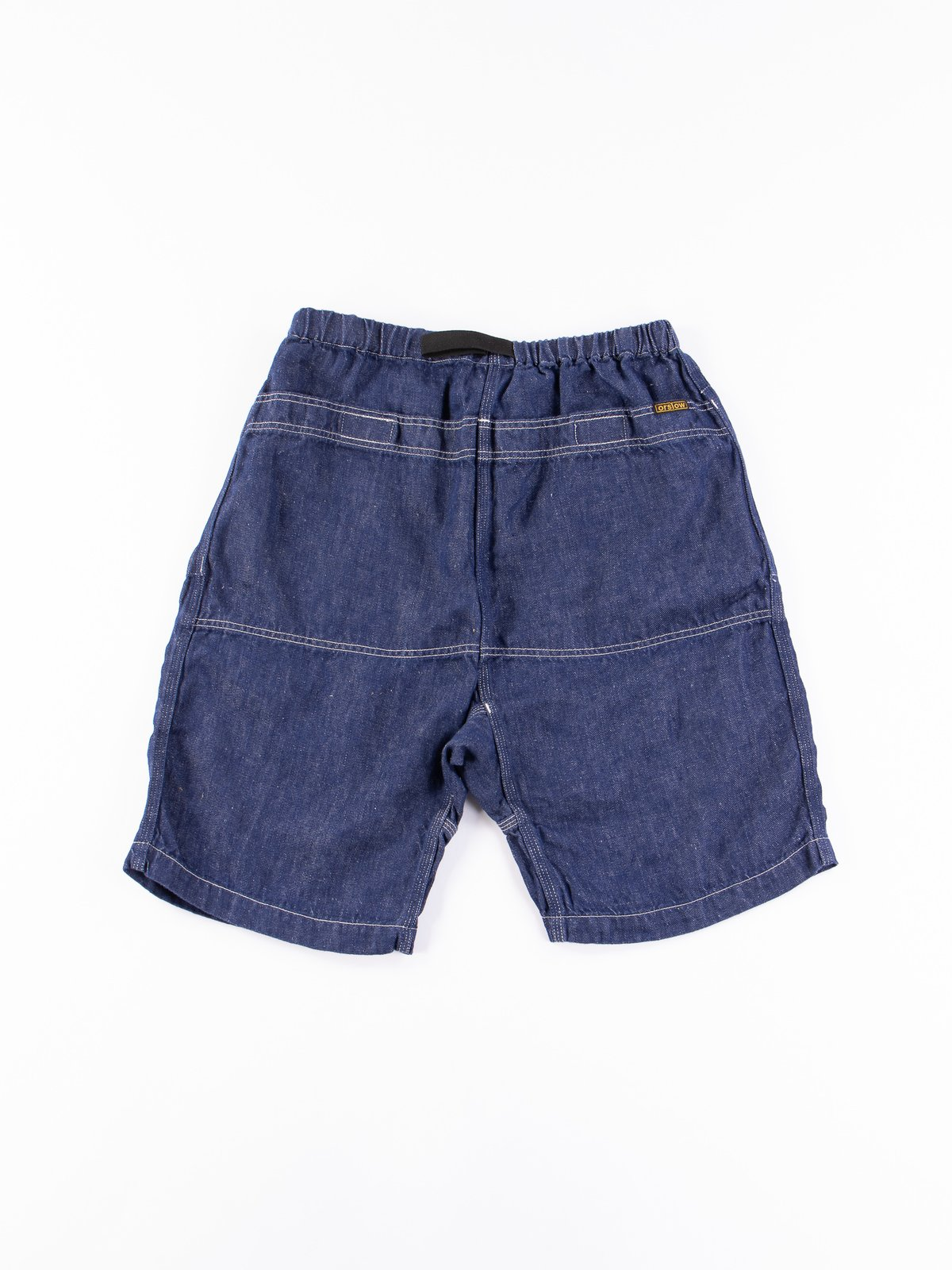 One Wash Linen Denim Climbing Short - Image 5