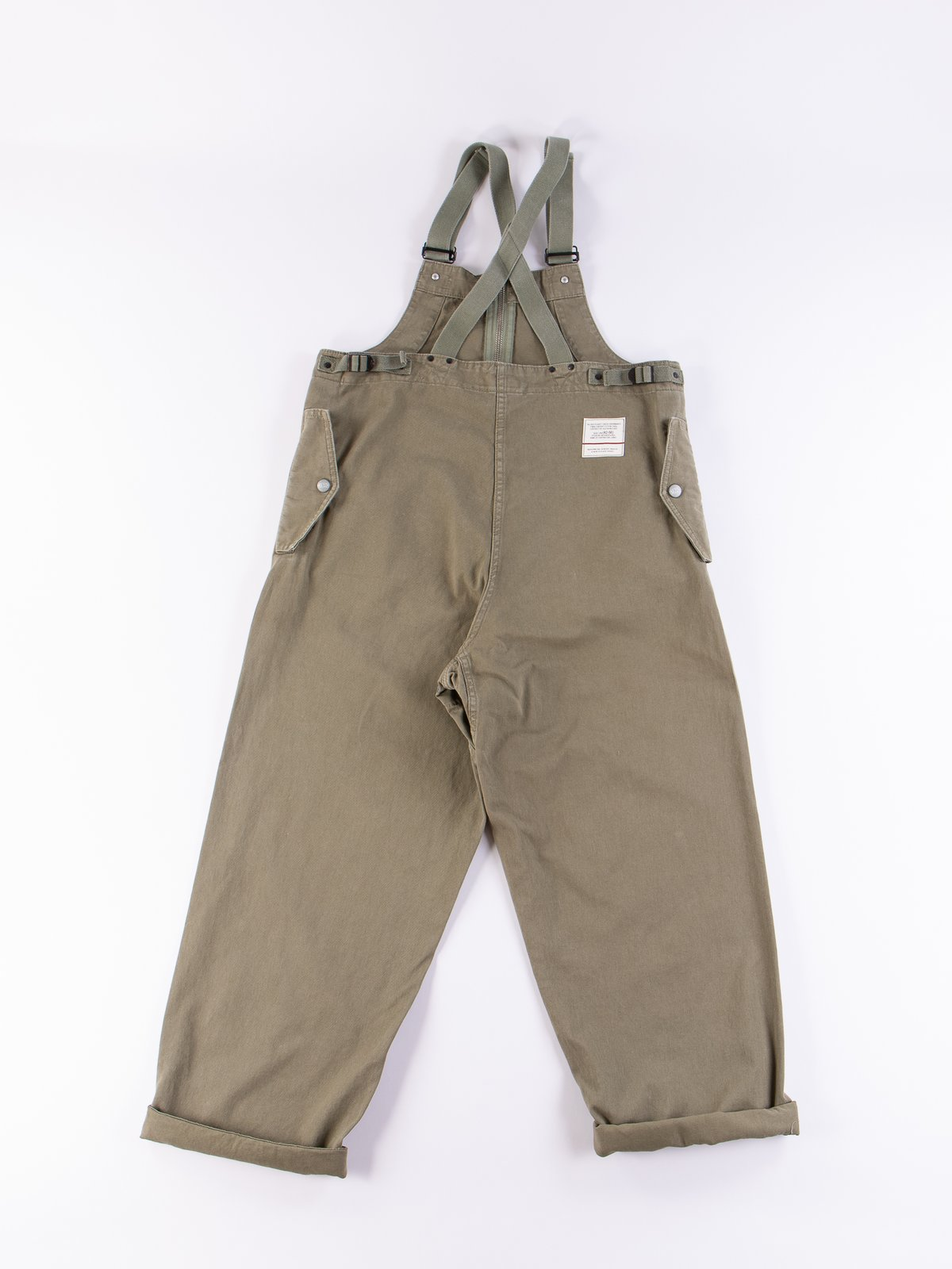 Lybro Washed Army Deck Waders - Image 6