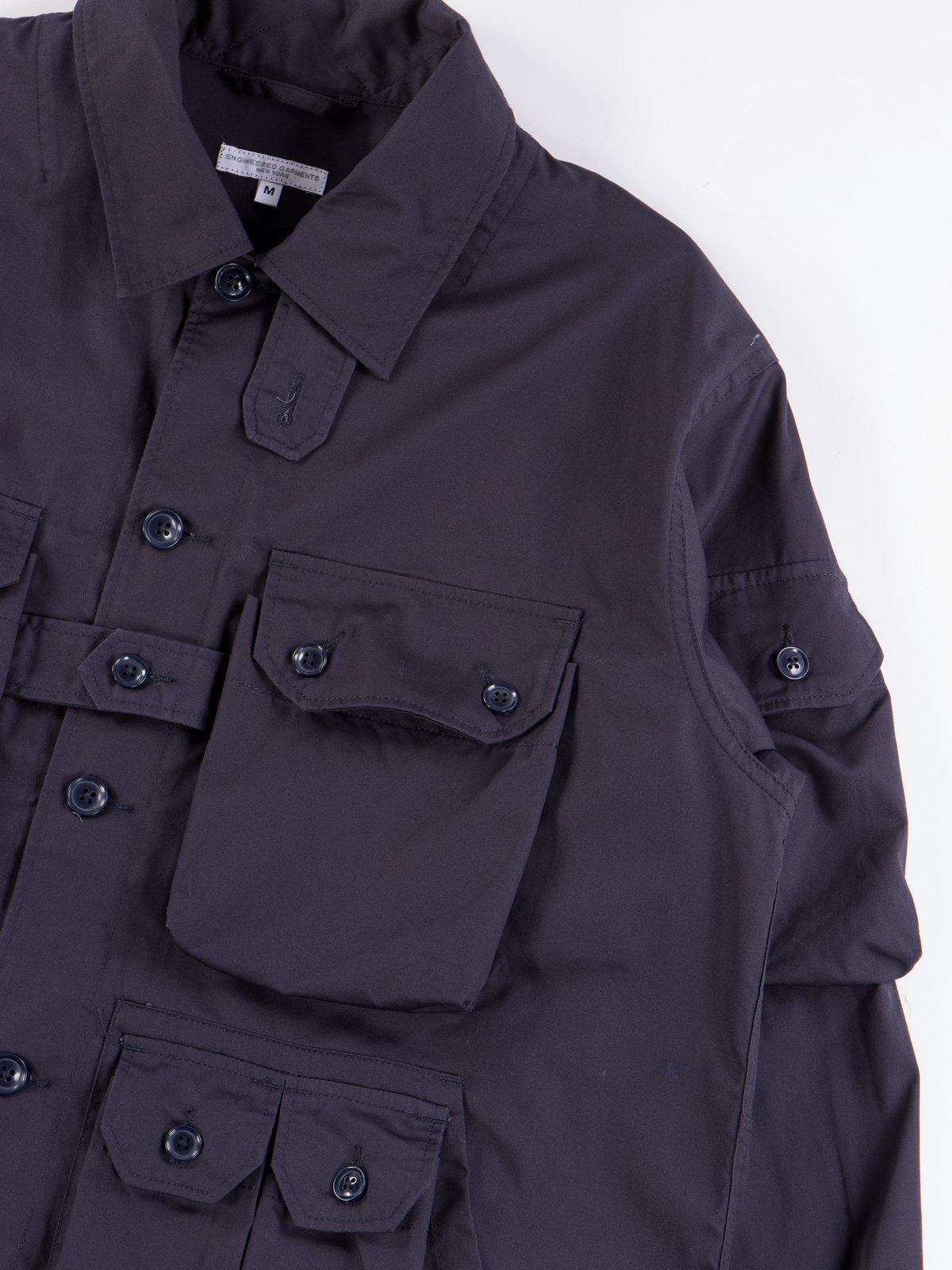 Dark Navy Highcount Twill Explorer Shirt Jacket - Image 5