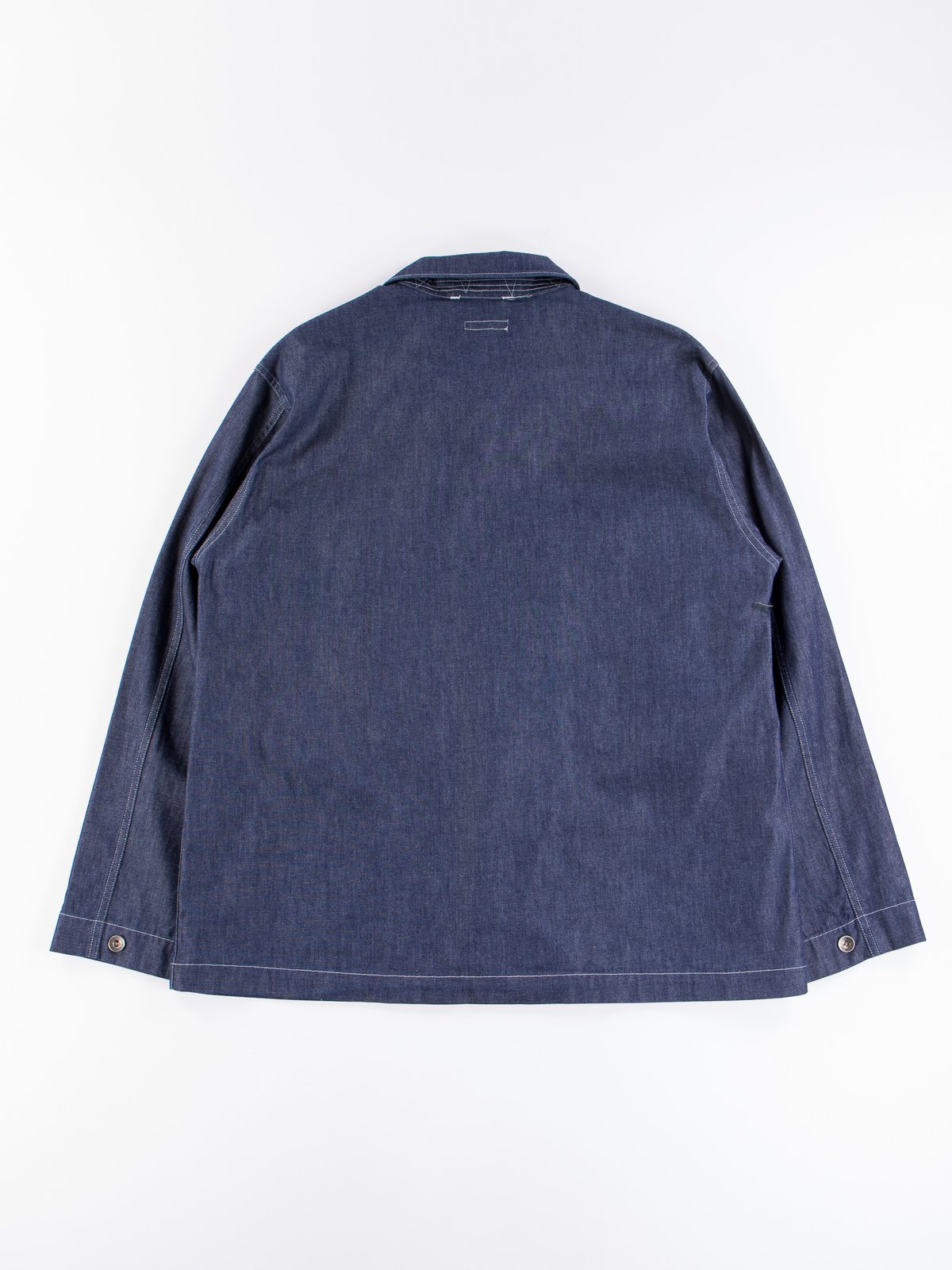 Indigo 8oz Cone Denim M43/2 Shirt Jacket - Image 9