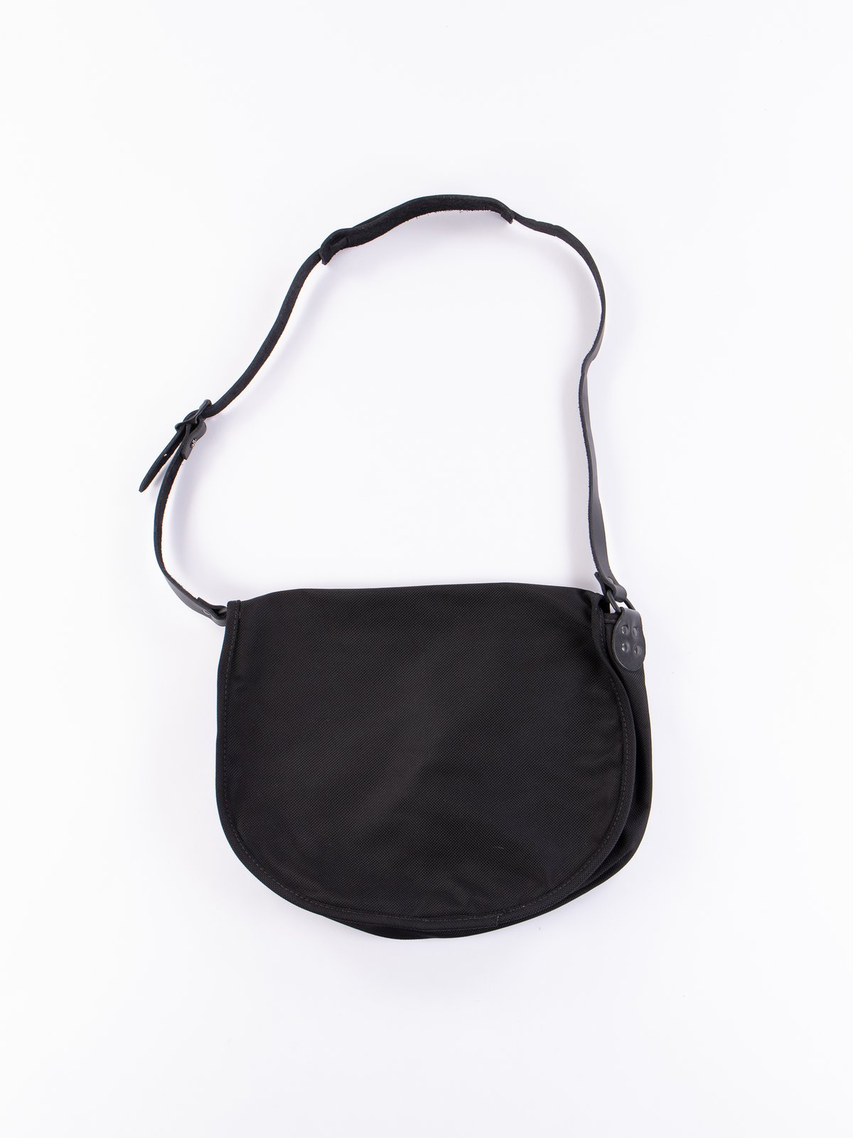 Black Large Ballistic Nylon Binocular Bag - Image 4