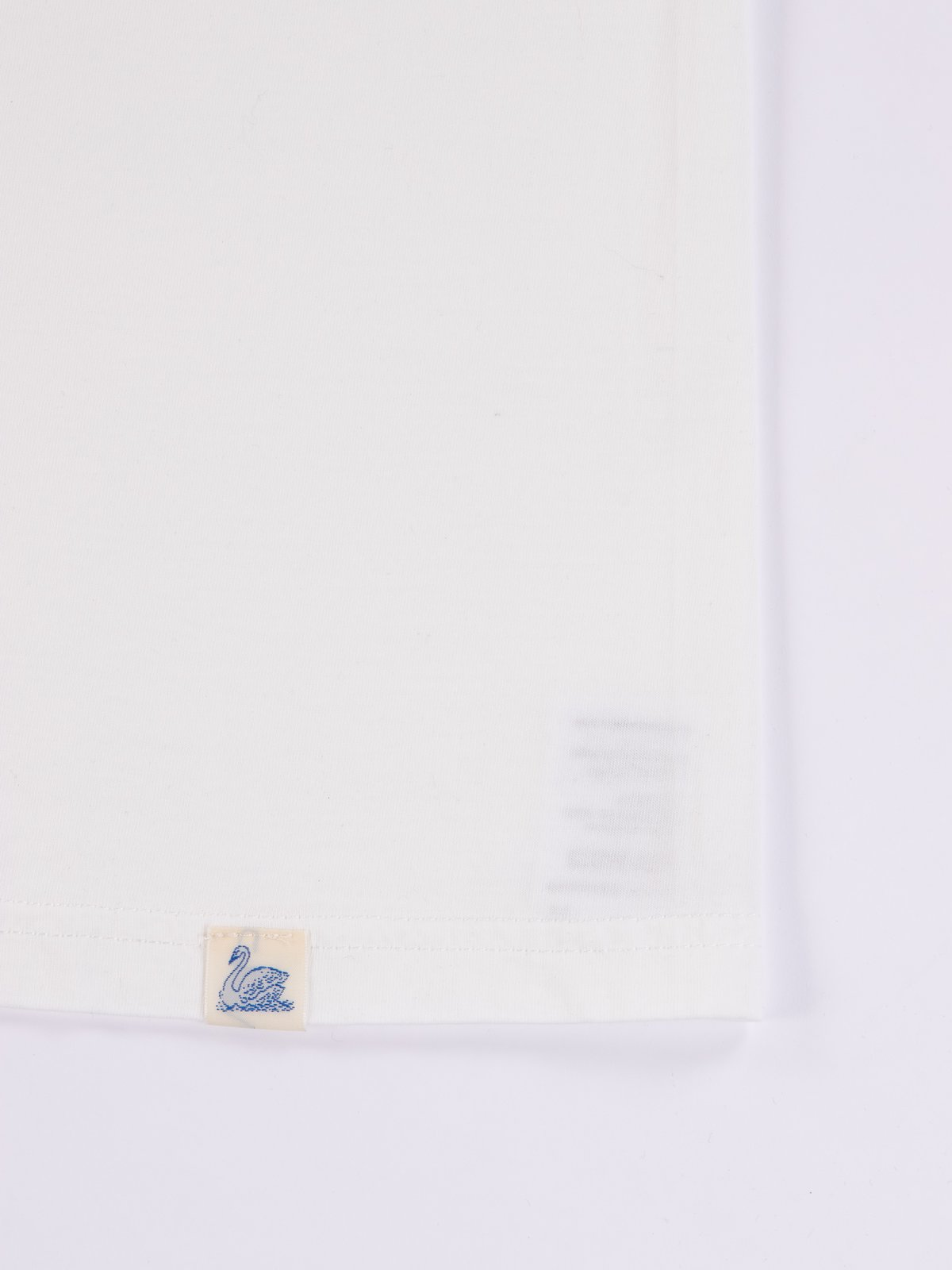 White Good Basics CTOS01 Oversized Crew Neck Tee - Image 5