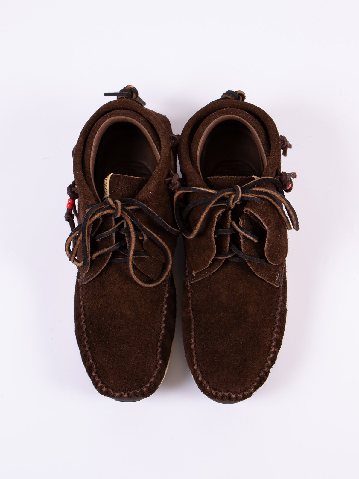 Dark Brown Veg Suede FBT - Image 6
