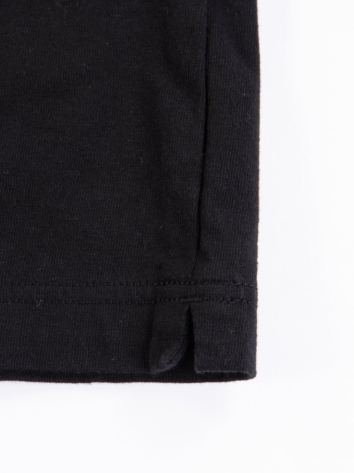Black Henley T–Shirt - Image 5
