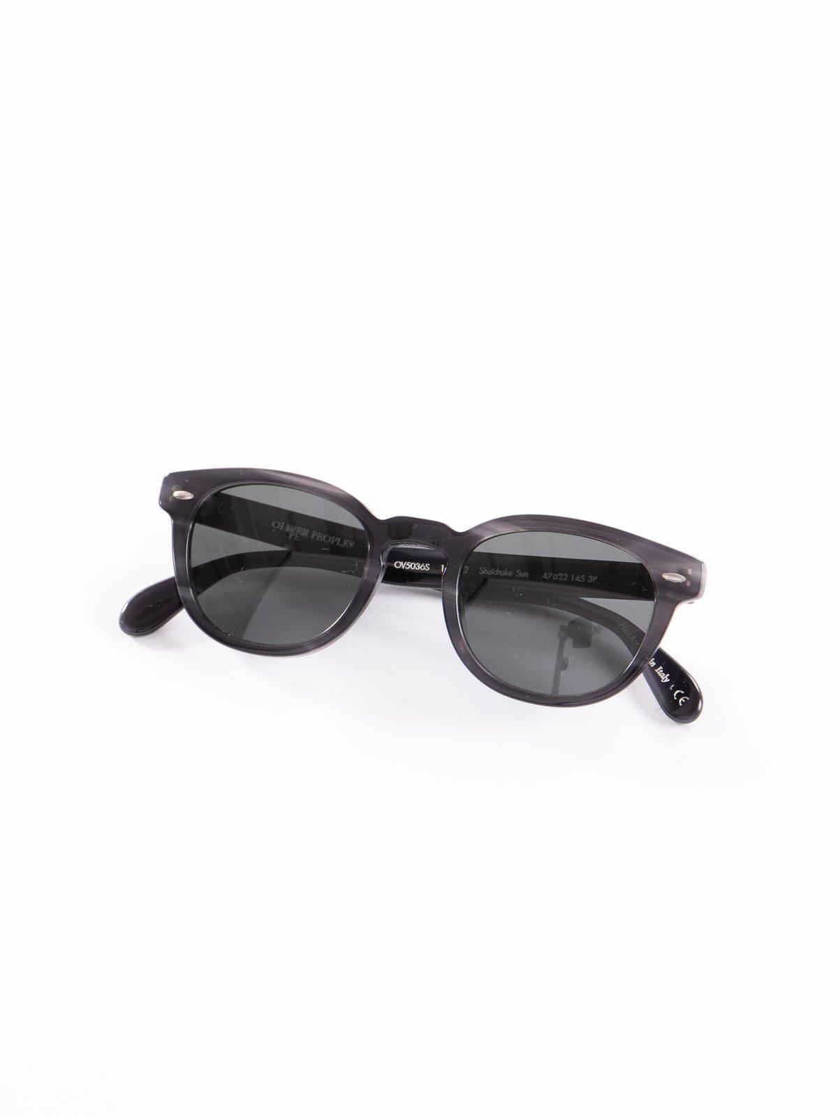Charcoal Tortoise/Midnight Express Polar Sheldrake Sunglasses - Image 1