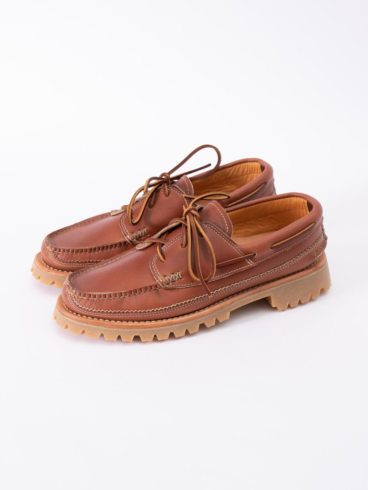 C WHISKEY DB BOAT SHOE W/ LUG SOLE EXCLUSIVE - Image 2