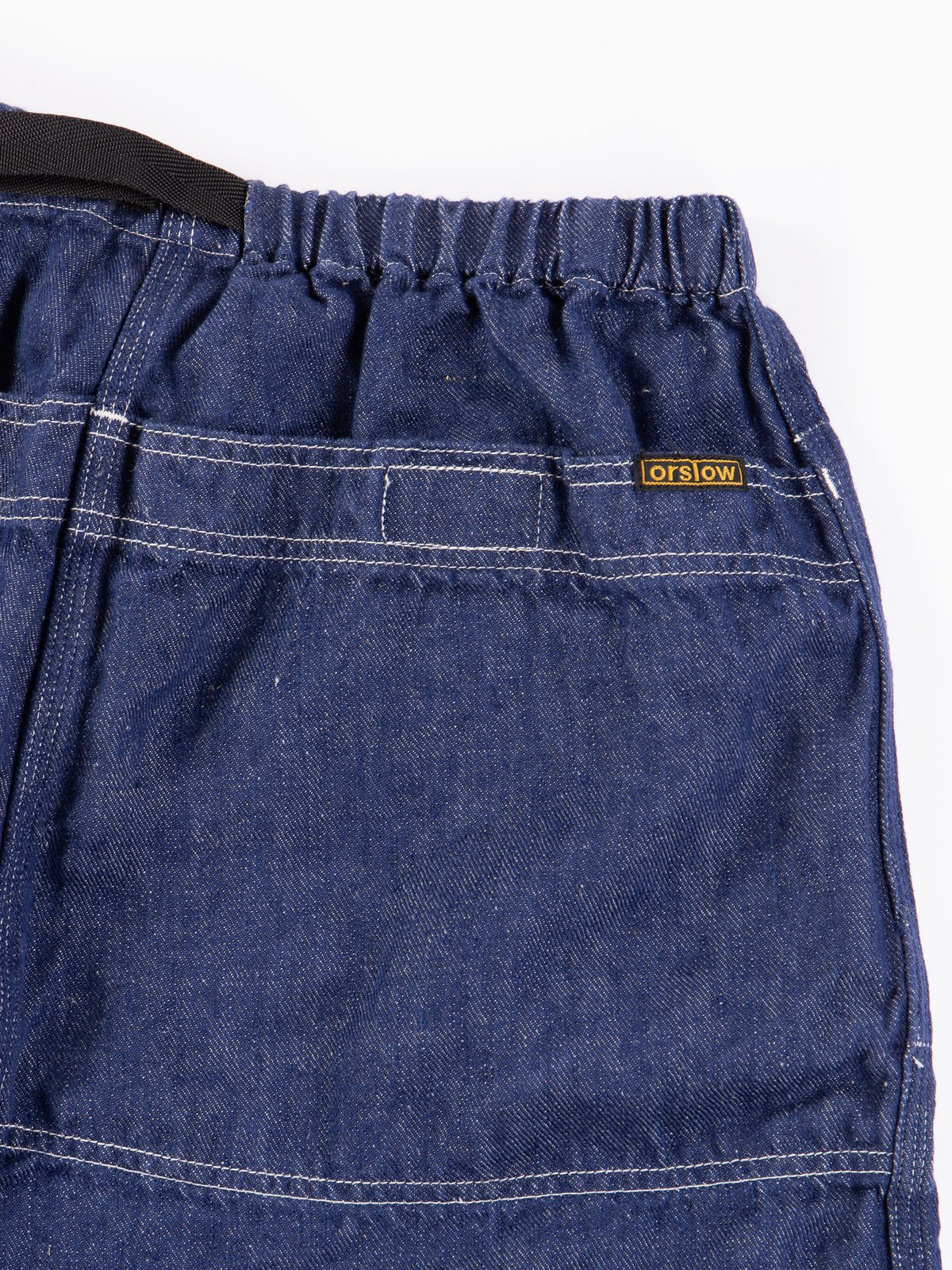 One Wash Linen Denim Climbing Short - Image 4
