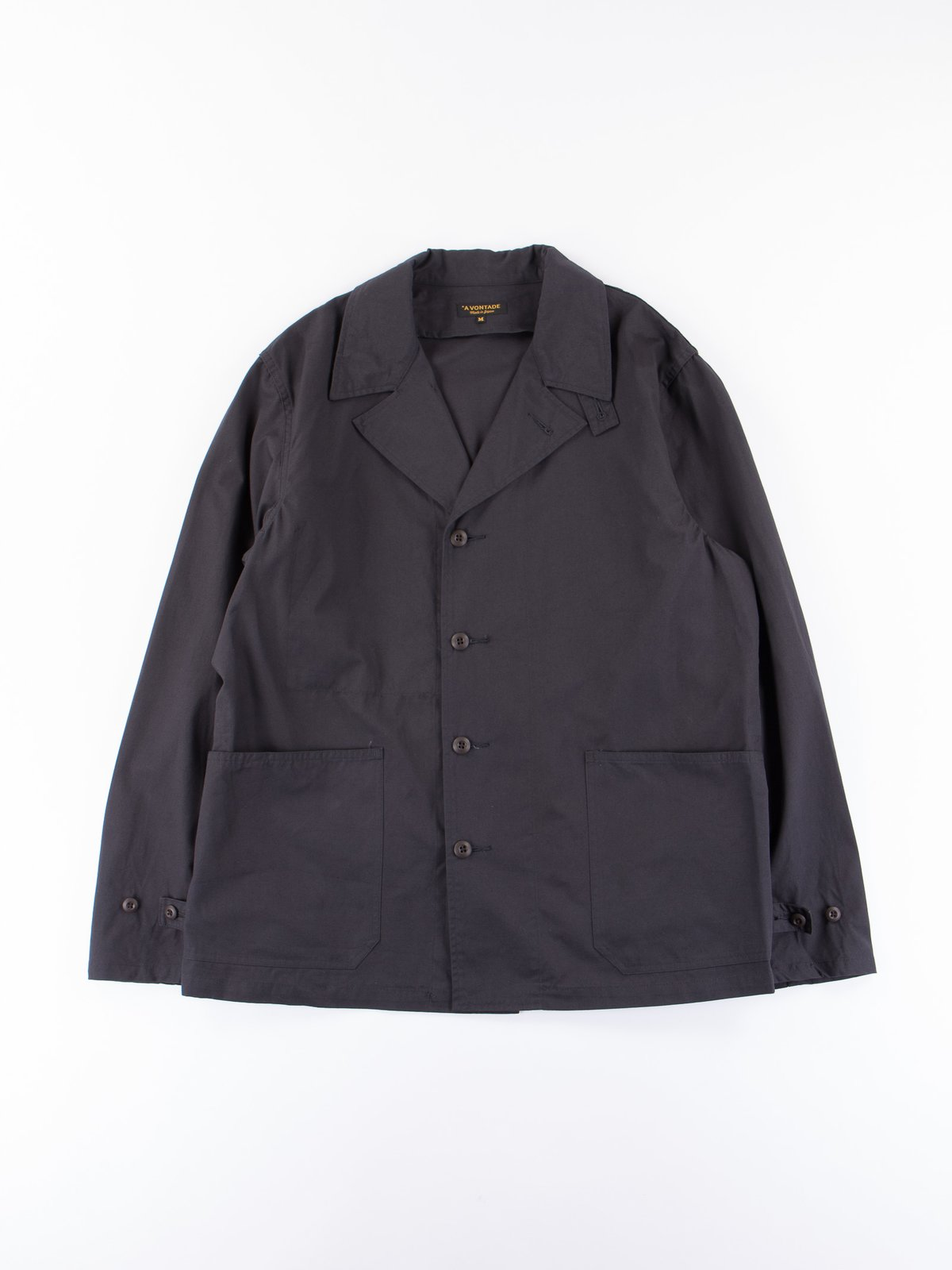 Fade Black Utility Coverall Jacket - Image 1