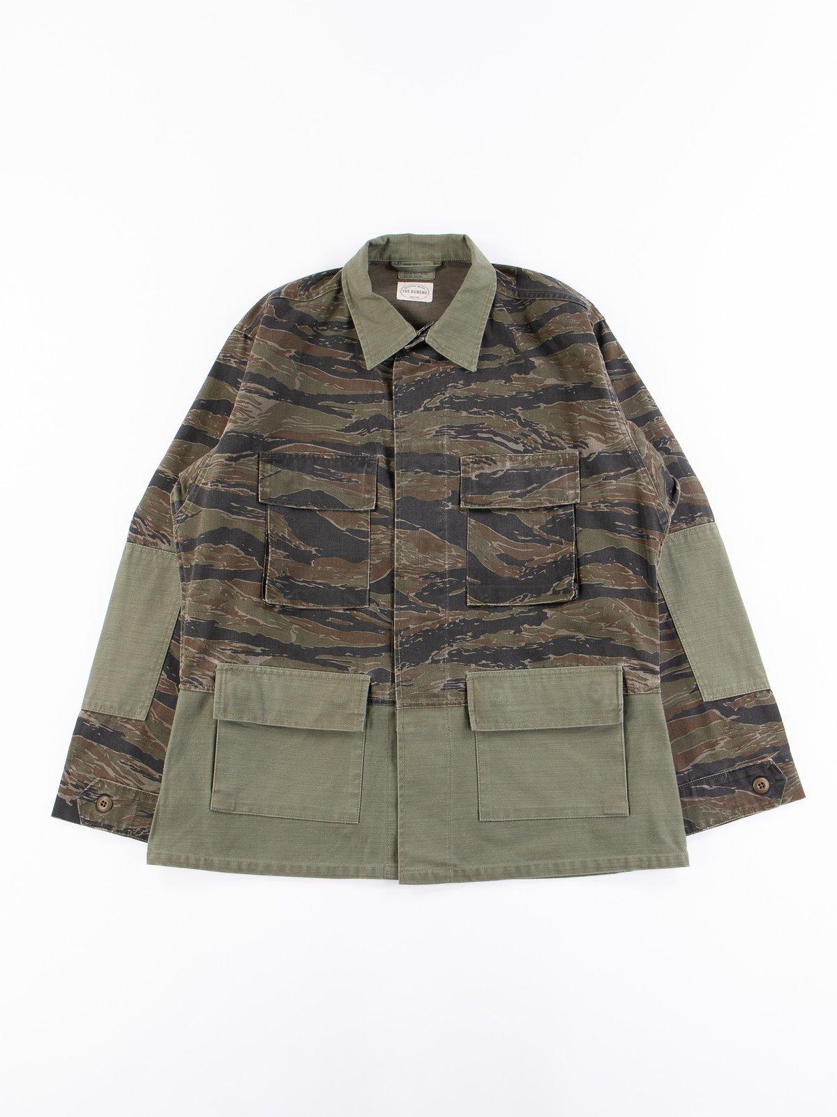 Reworks Camo/Olive Field Jacket - Image 1