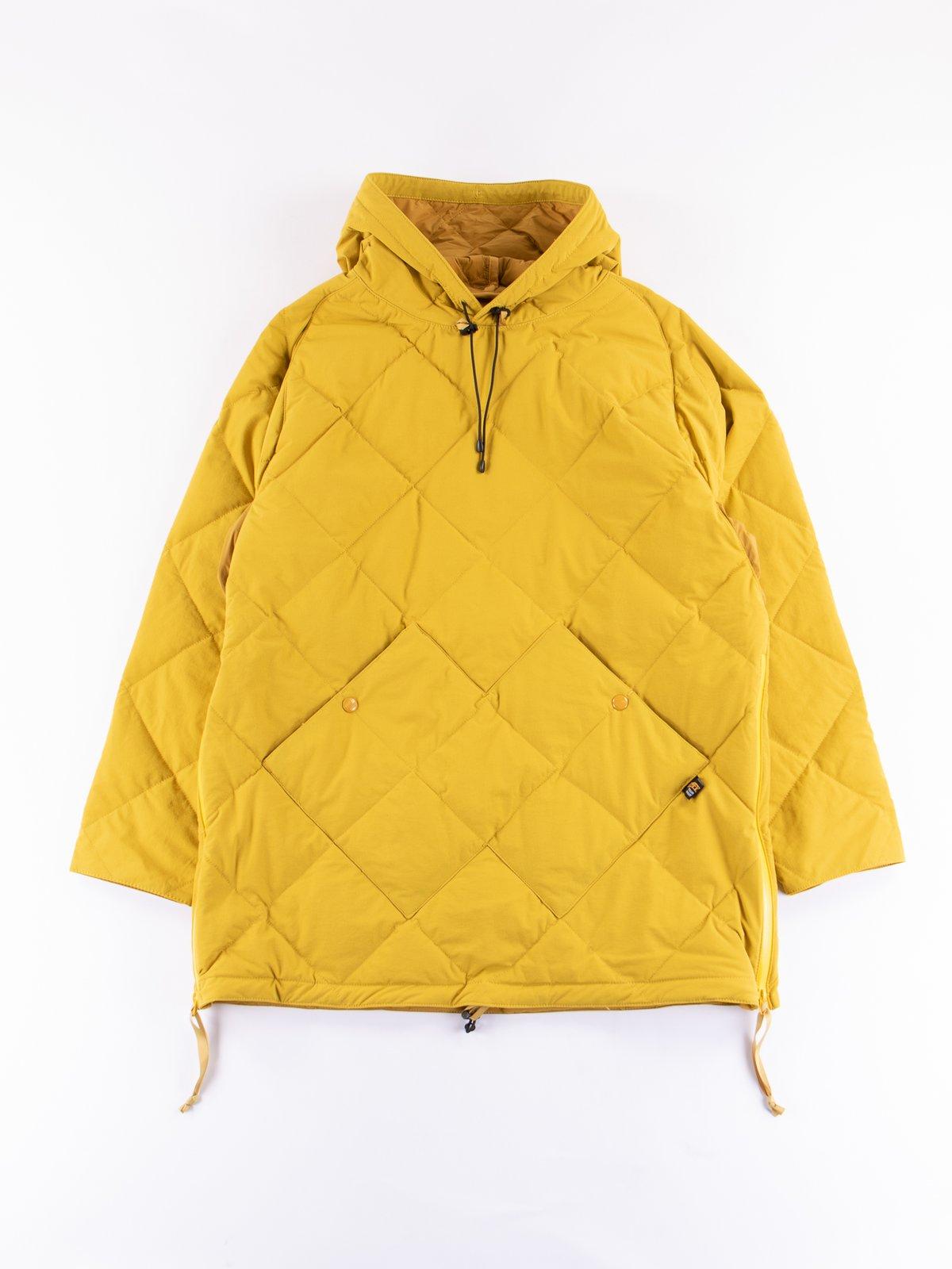 Mustard Flex Down Hoodie - Image 1