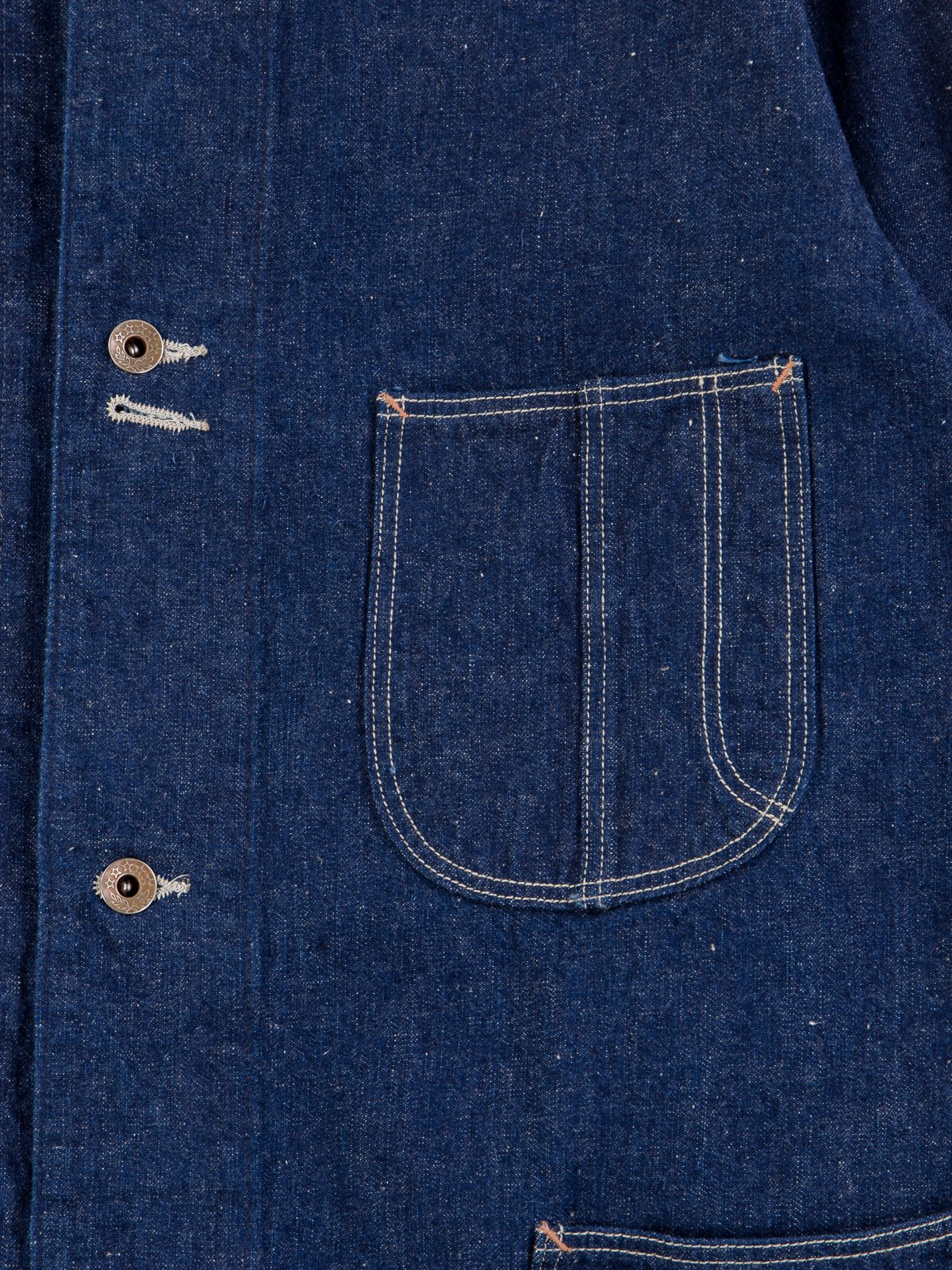 One Wash Denim 40's Coverall - Image 5