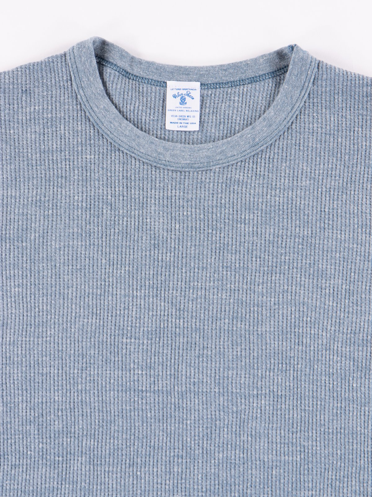 Heather Blue Tri Thermal T–Shirt - Image 2
