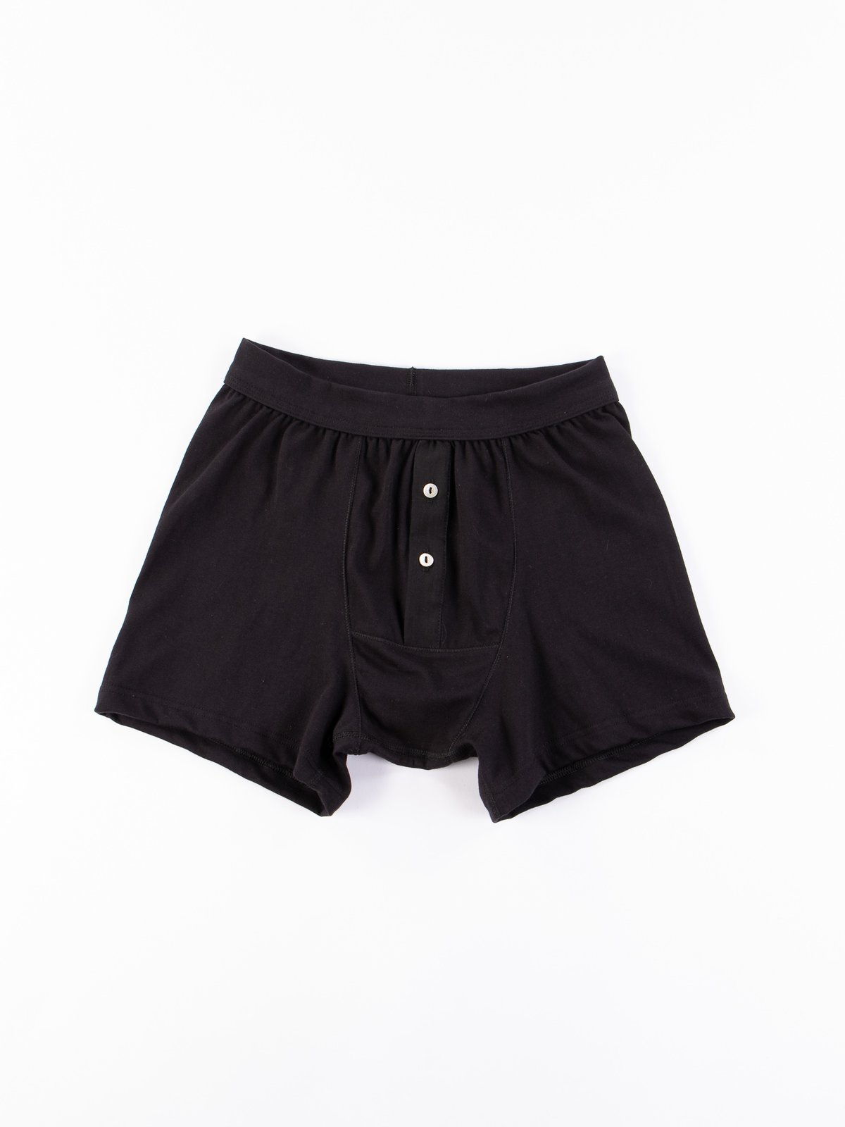 Black 255 Button Fly Boxer - Image 1