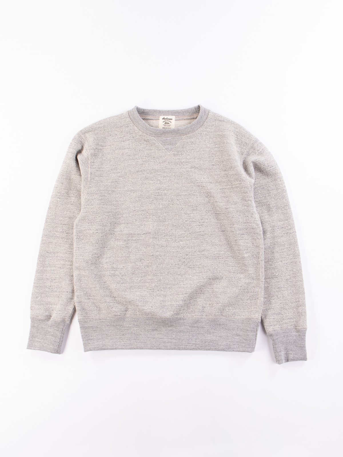 Heather Grey GG Crewneck Sweat - Image 1