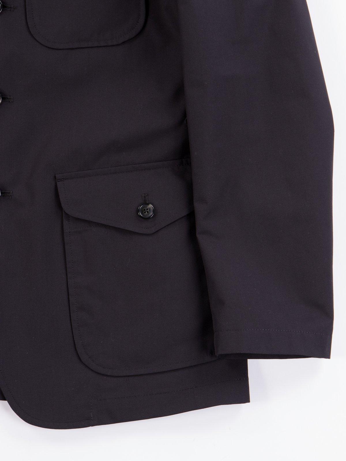 Black Structured EG Blazer - Image 5