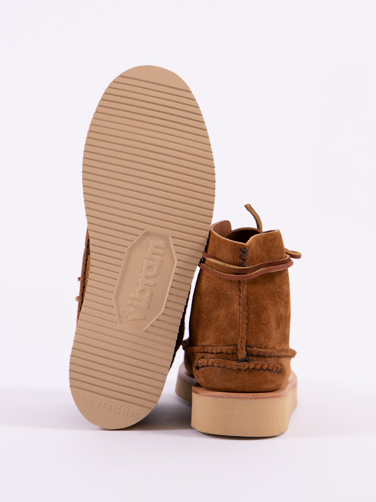 Golden Brown All Handsewn Sneaker Moc High Boot - Image 6