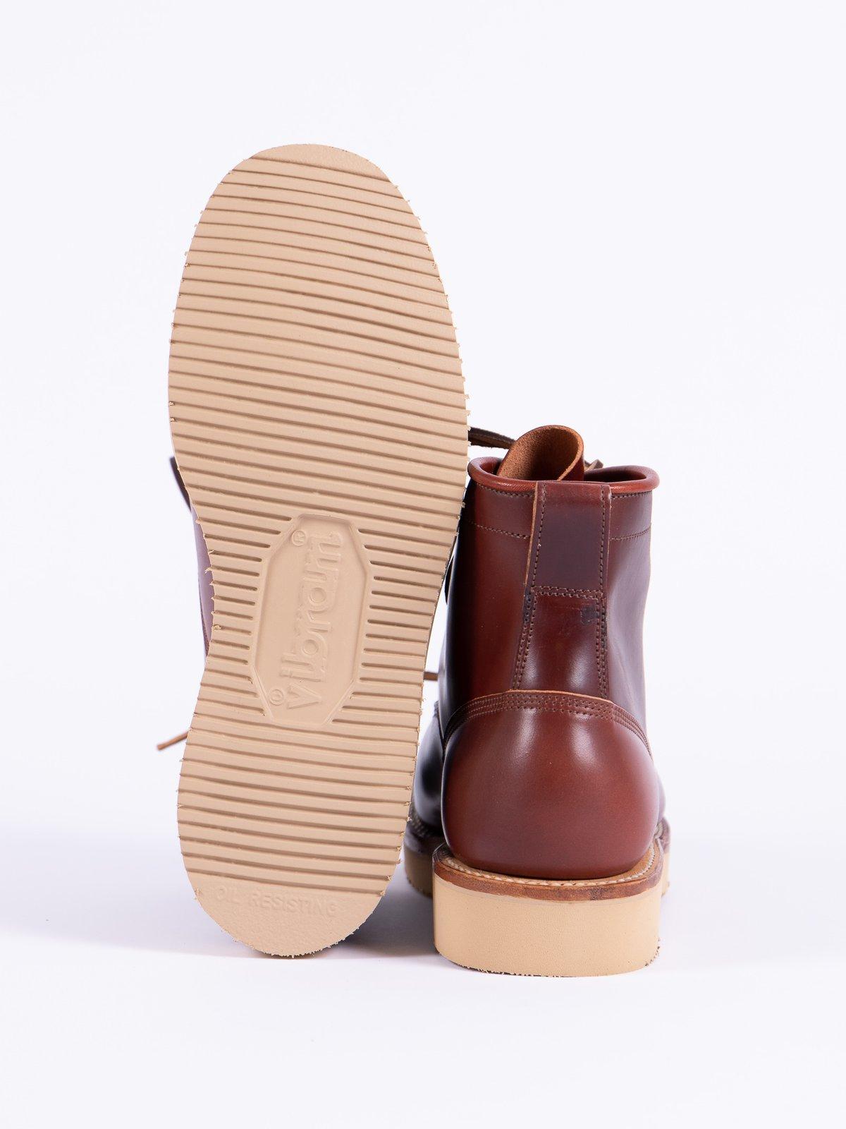 Garnet Shell Cordovan Rigger Boot - Image 5