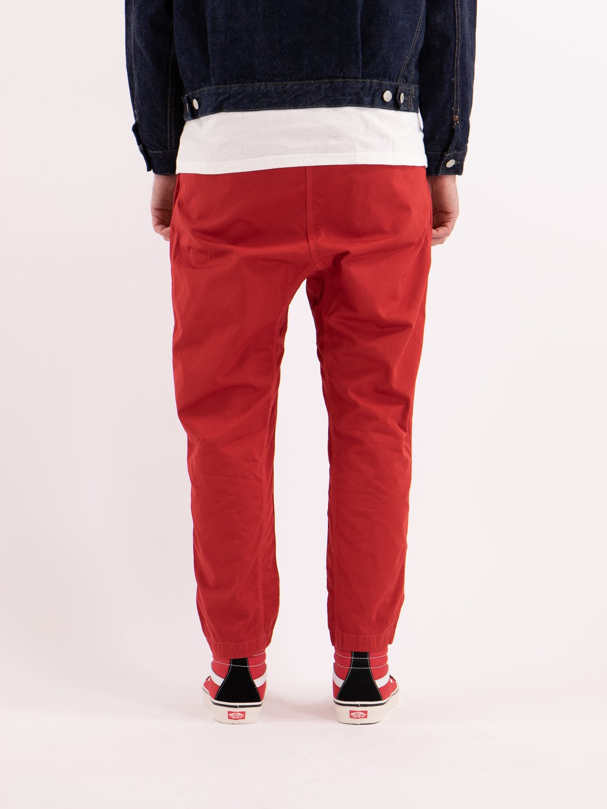 Red Overdyed Poplin Climbing Pant - Image 4