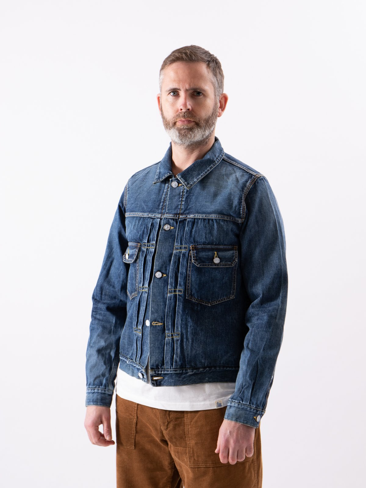 Dry Damaged SS 101 Denim Jacket - Image 2