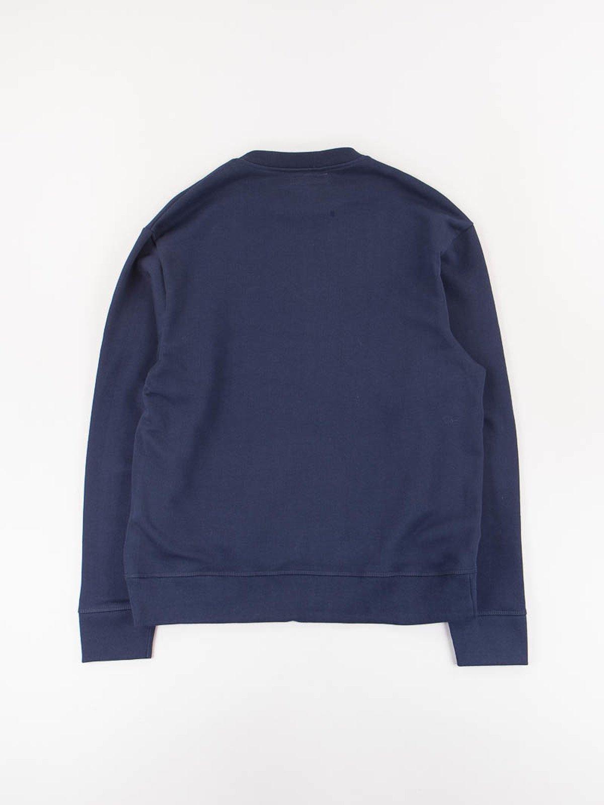 Ink Blue 346OS Organic Cotton Oversized Sweater - Image 5