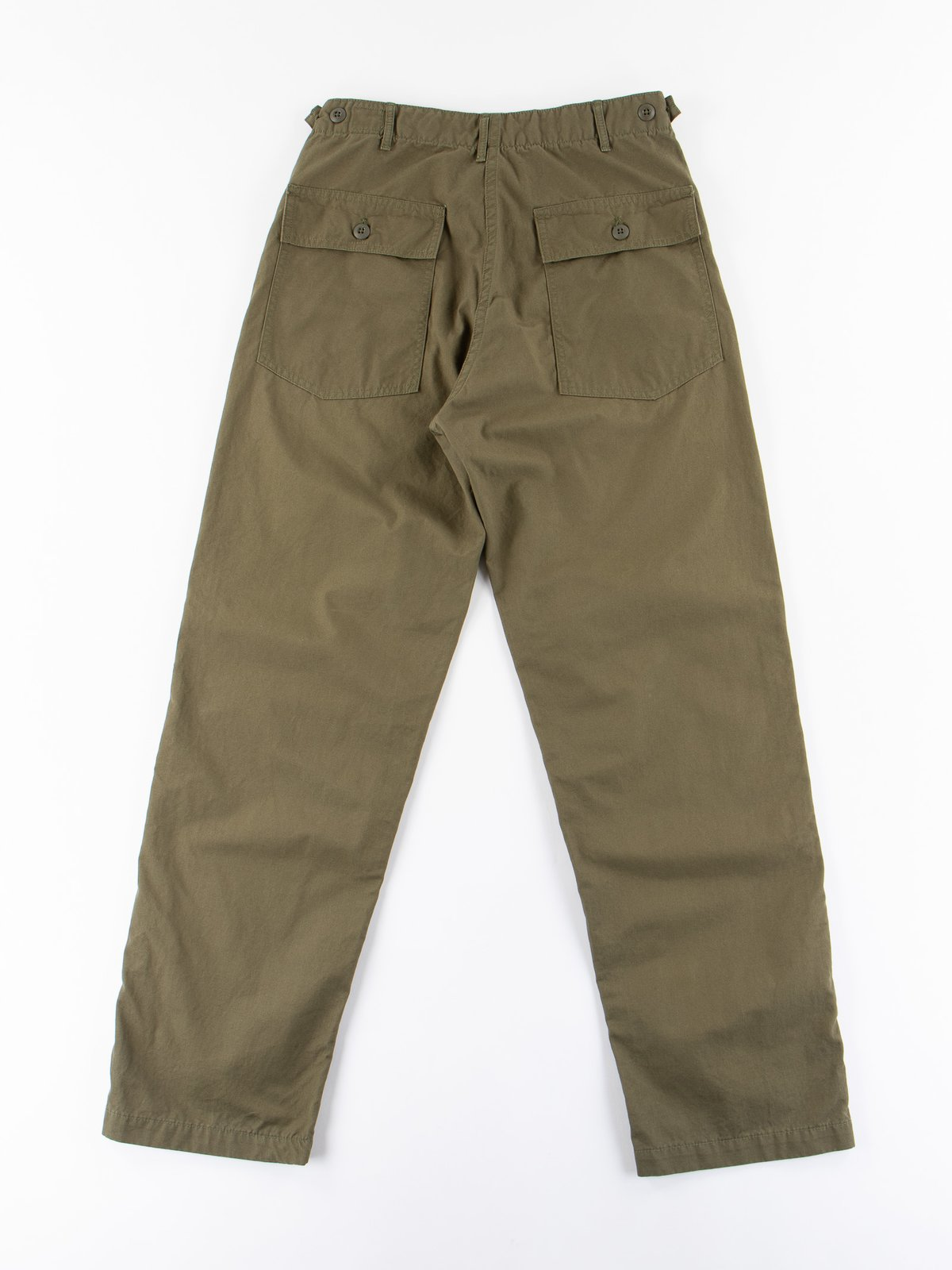 Army Green Ripstop Regular Fit US Army Fatigue Pant - Image 8