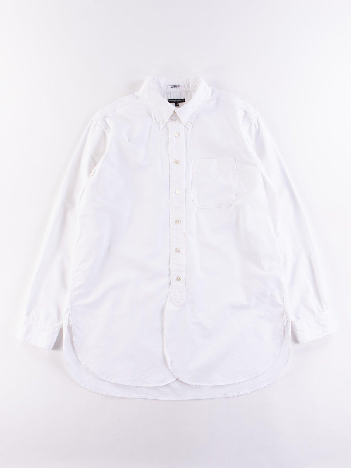 White Cotton Oxford 19th Century BD Shirt - Image 1