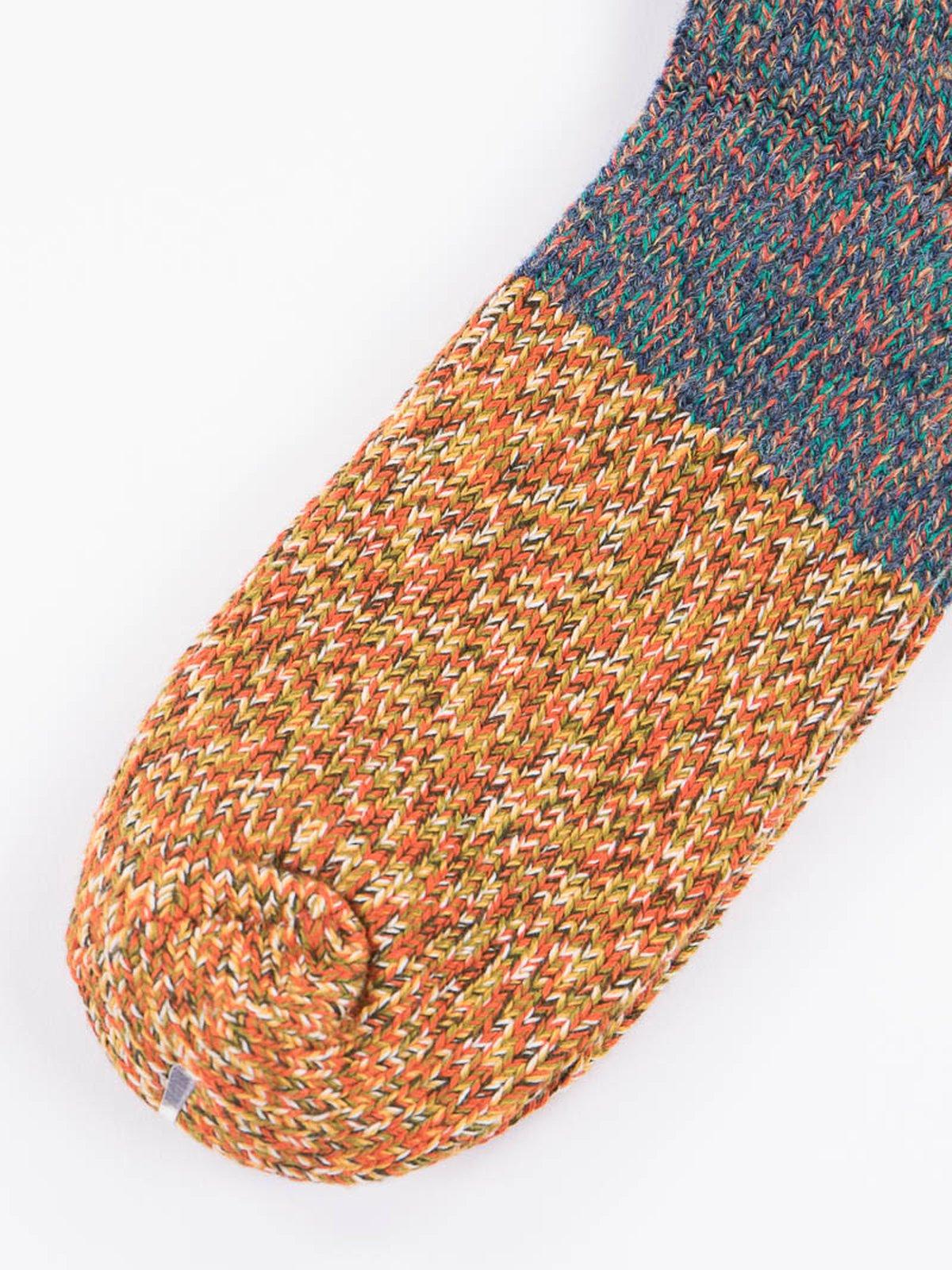 Purple Van Gogh Wool Socks - Image 3
