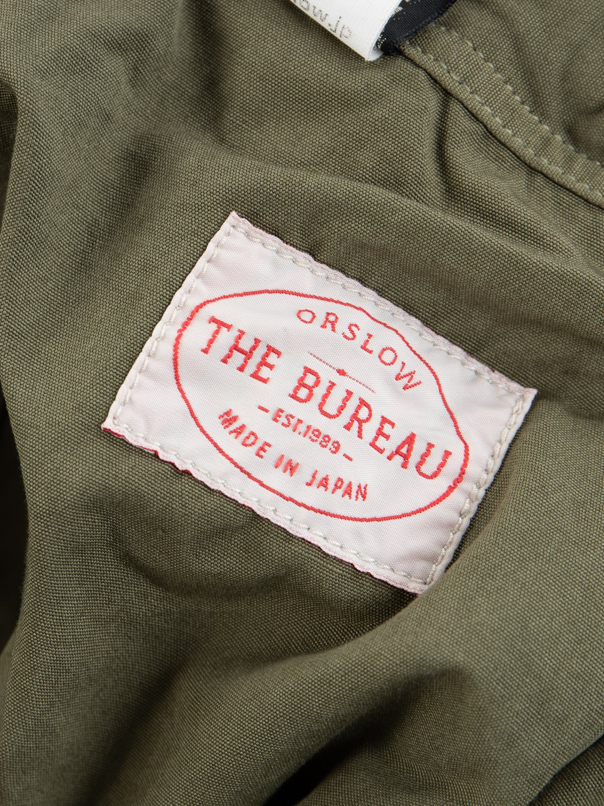 Army Overdyed Poplin TBB Mill Short - Image 6