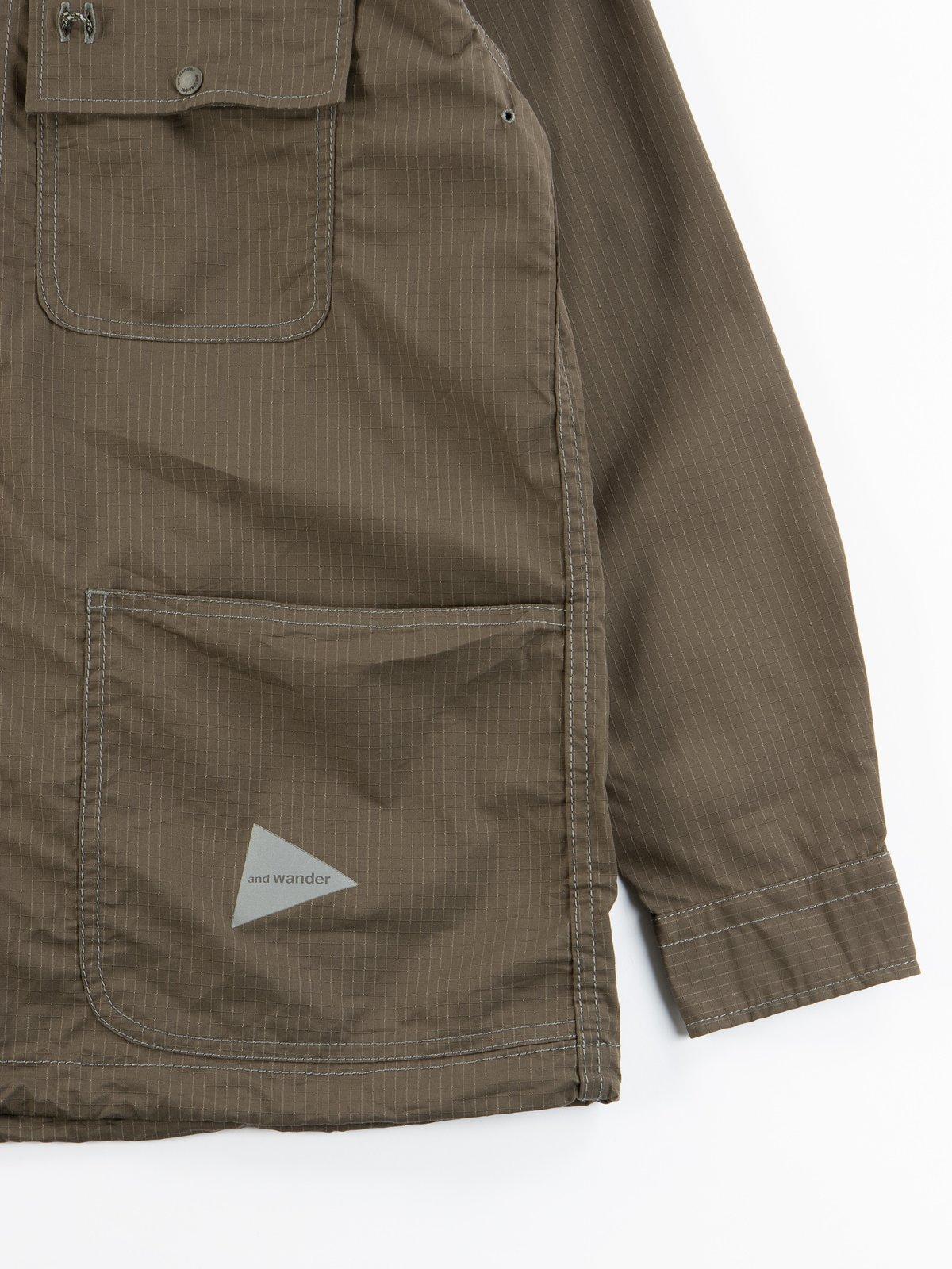Khaki Dry Rip Shirt - Image 5