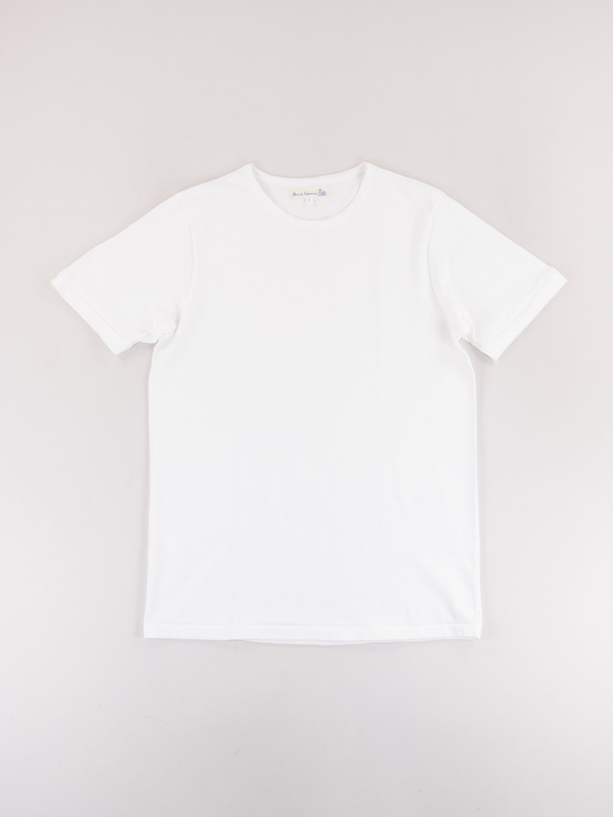 White 215 Organic Cotton Army Shirt - Image 1