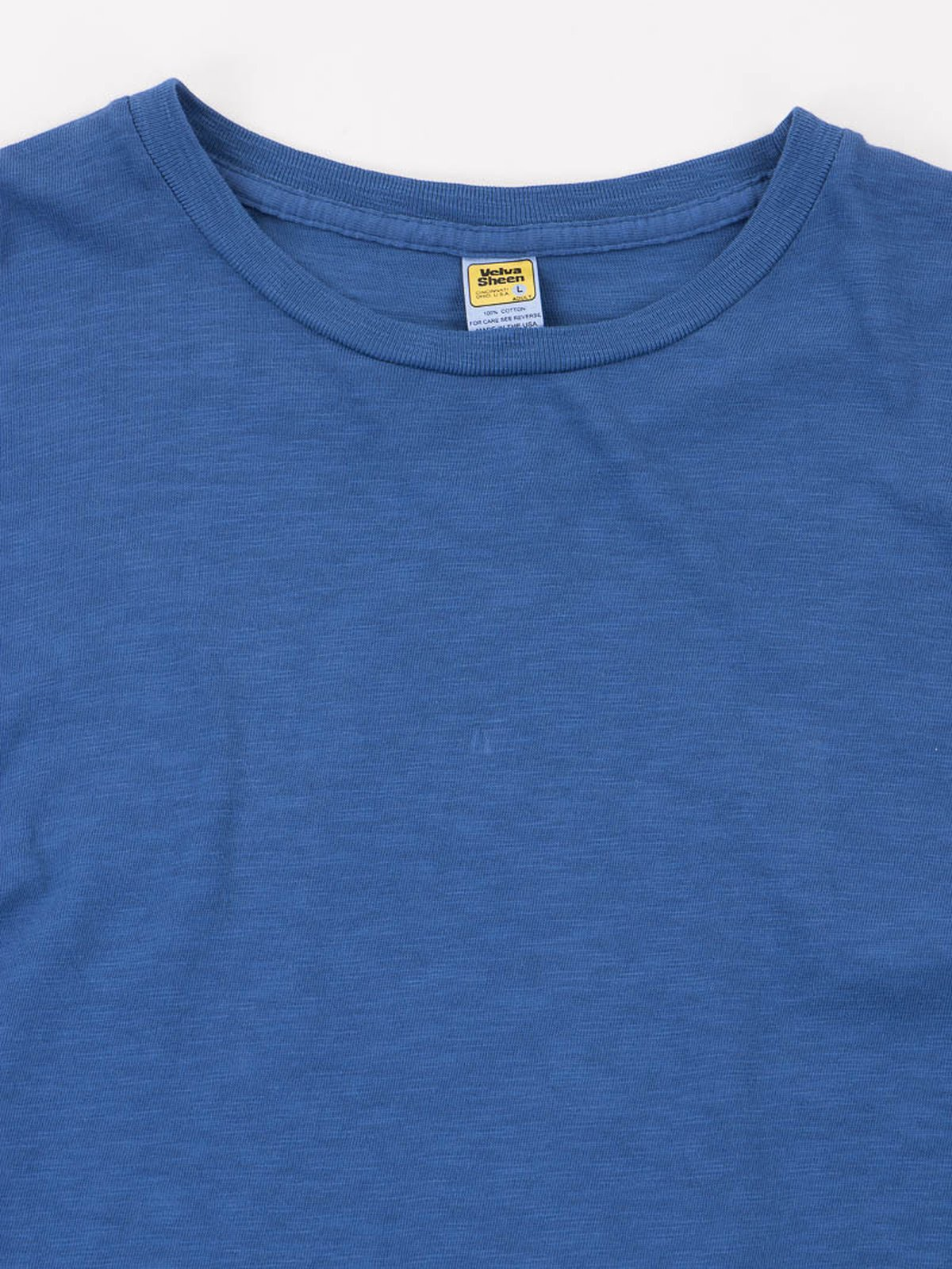 Blue Rolled Regular Tee - Image 3
