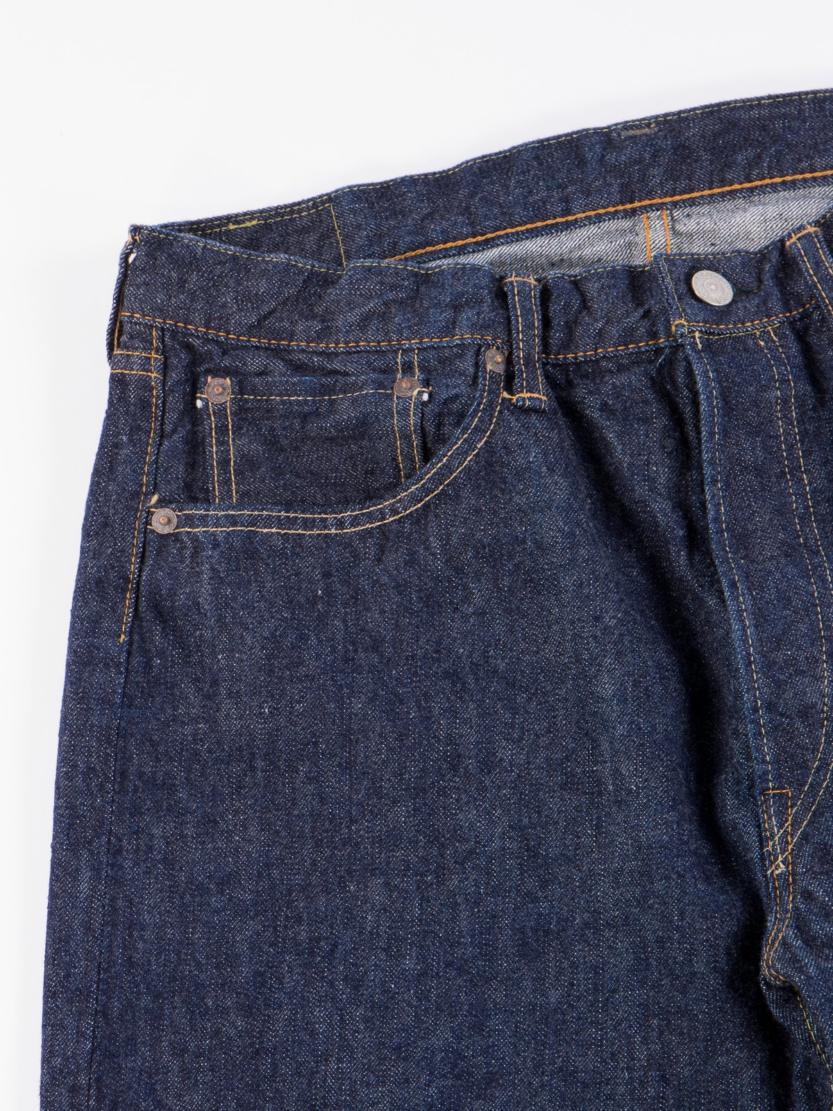 Indigo One Wash 105 Standard 5 Pocket Jean - Image 4