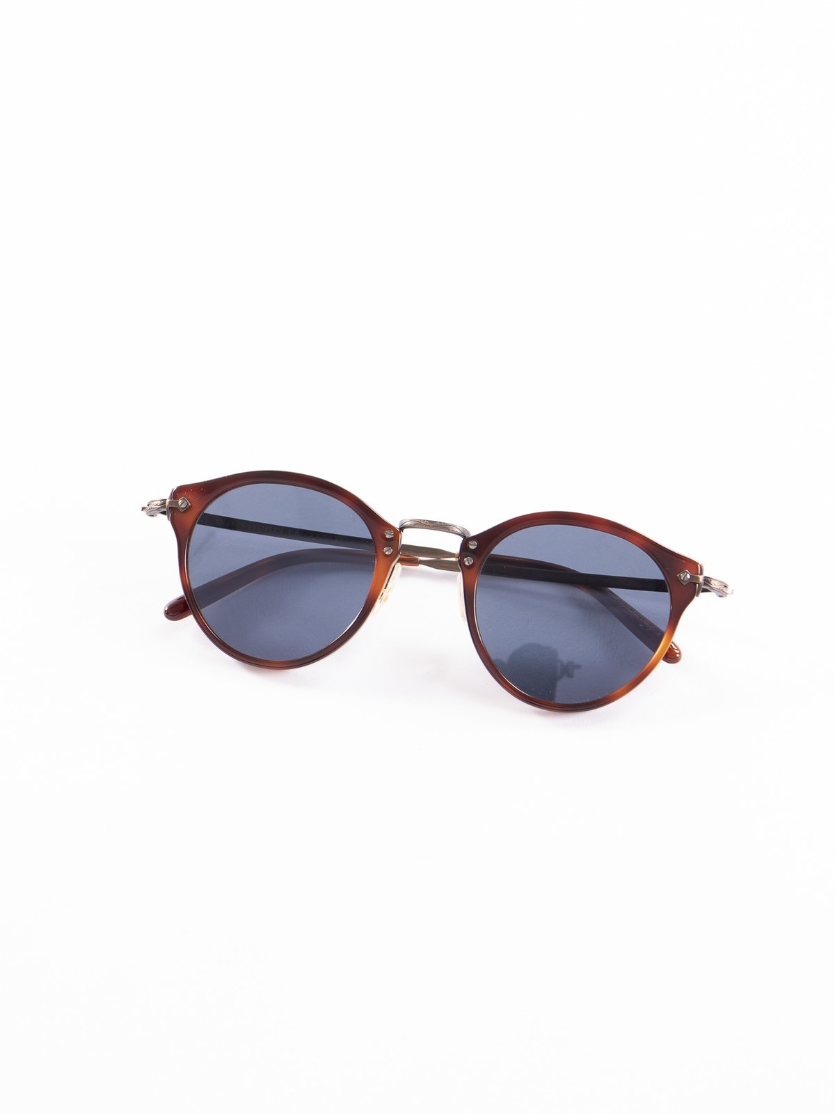 Dark Mahogany–Bronze–Blue OP–505 Sunglasses - Image 1
