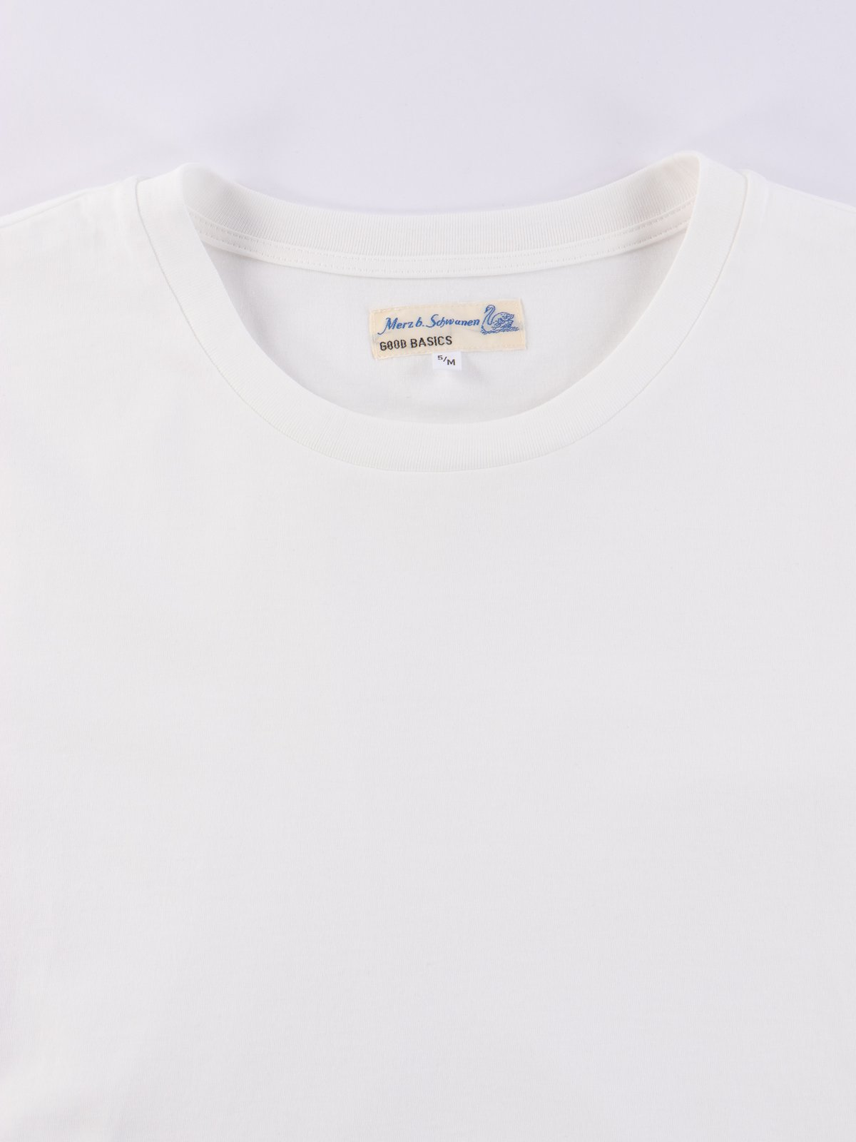White Good Basics CT01 Crew Neck Tee - Image 3