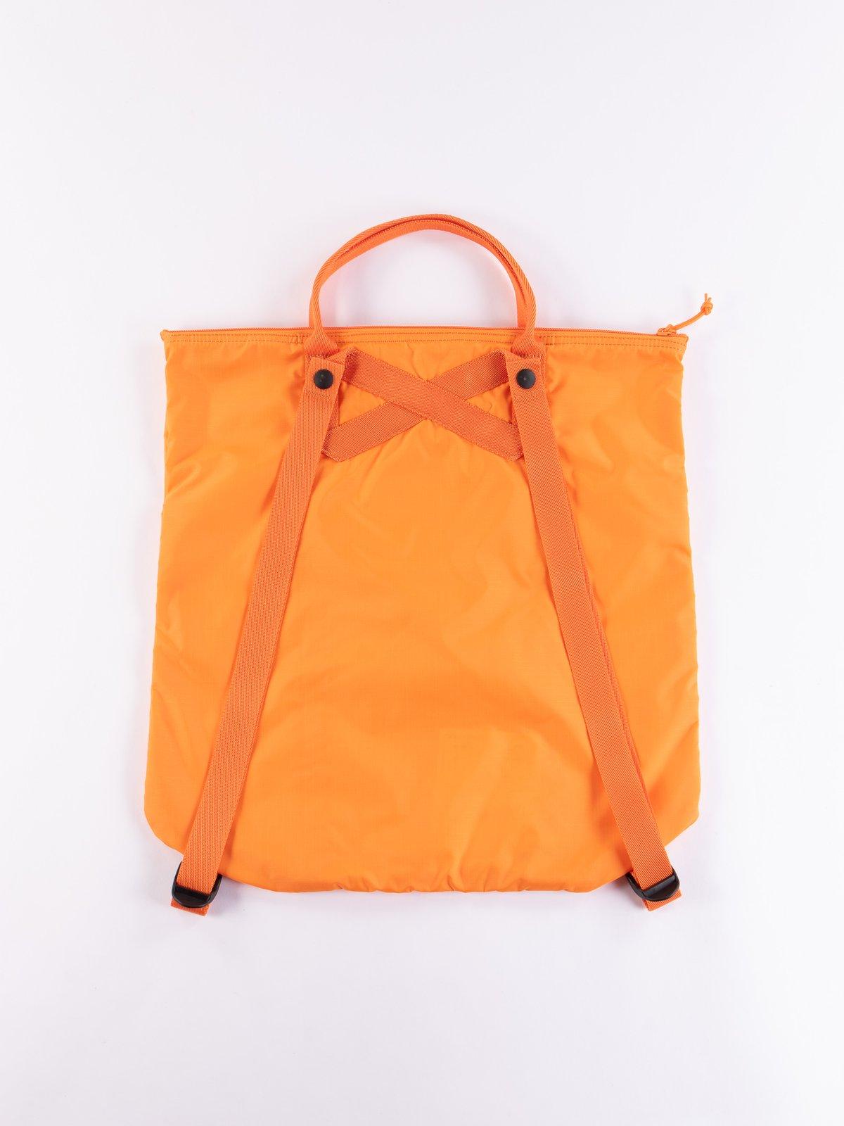 Orange Flex 2Way Tote Bag - Image 3
