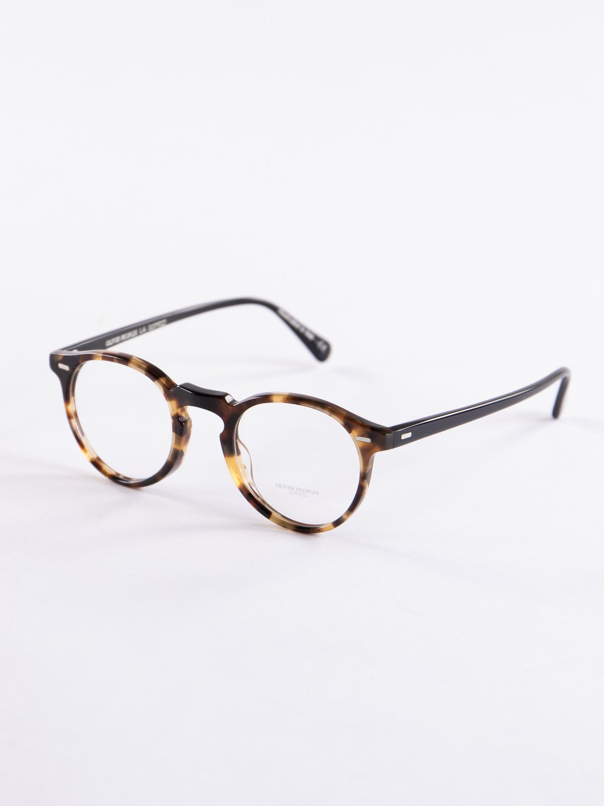 9e5a7329034 Hickory Tortoise Gregory Peck Optical Frame by Oliver Peoples – The ...