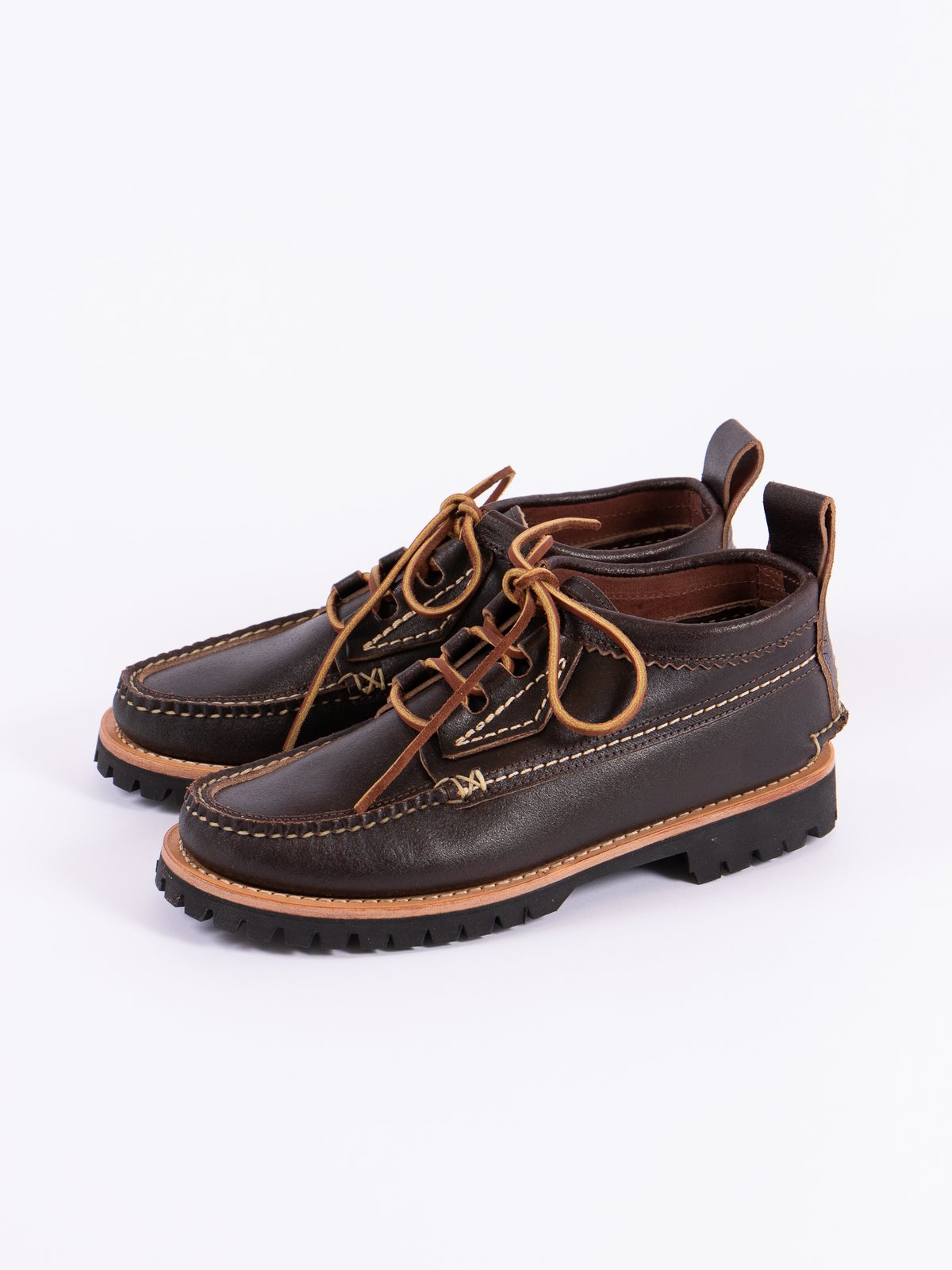 Wax Brown Maine Guide Ox Quebec Eyestay Boot Exclusive - Image 3