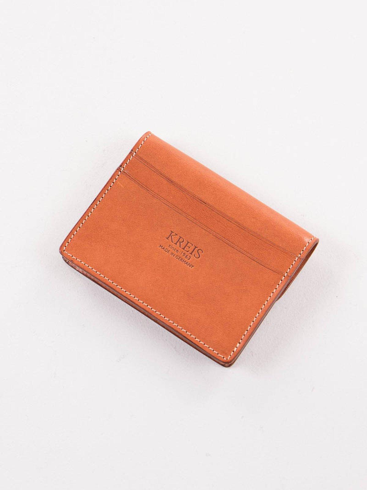 Cognac Italian Calf Small Wallet - Image 2