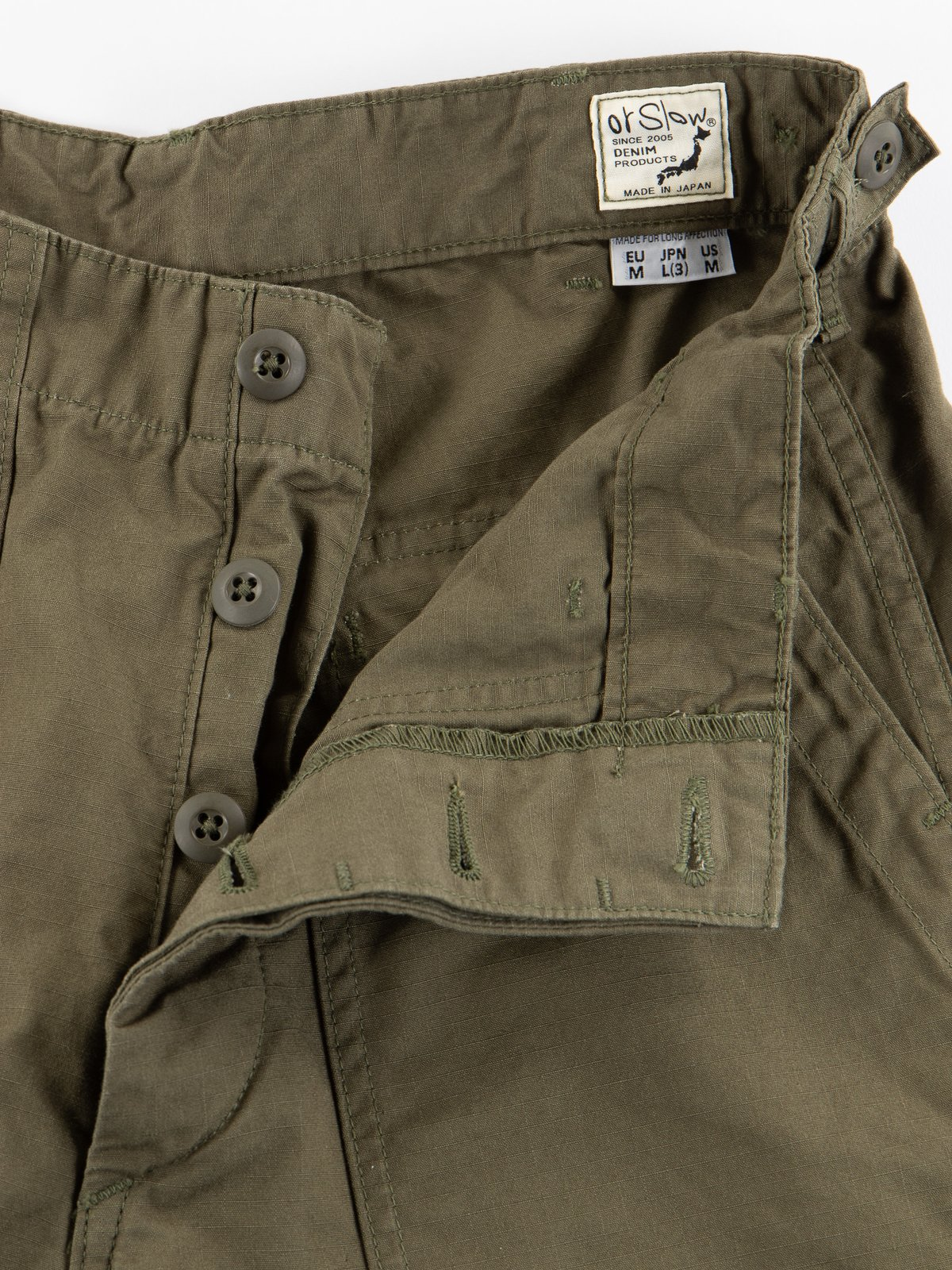 Army Green Ripstop Regular Fit US Army Fatigue Pant - Image 6