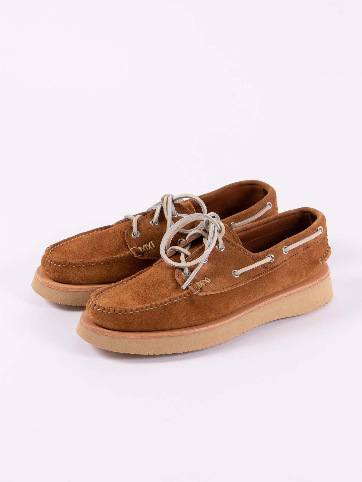 FO Golden Brown Boat Shoe Exclusive - Image 2